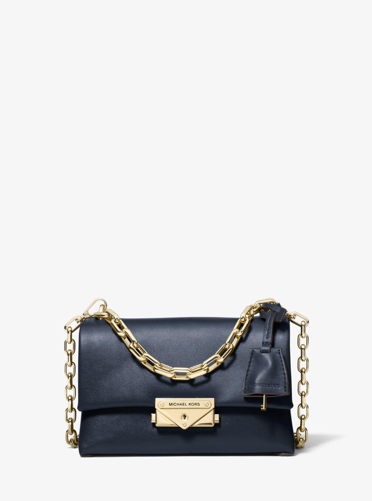 b63d706e0708 Michael Kors - Blue Cece Extra-small Leather Crossbody Bag - Lyst. View  fullscreen