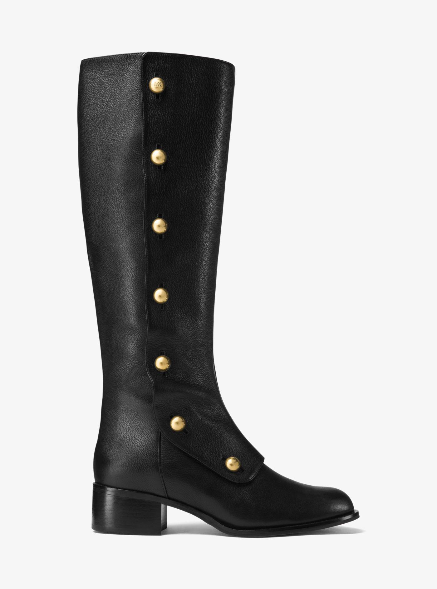 c4db0062330 Michael Kors Black Maisie Leather Boot