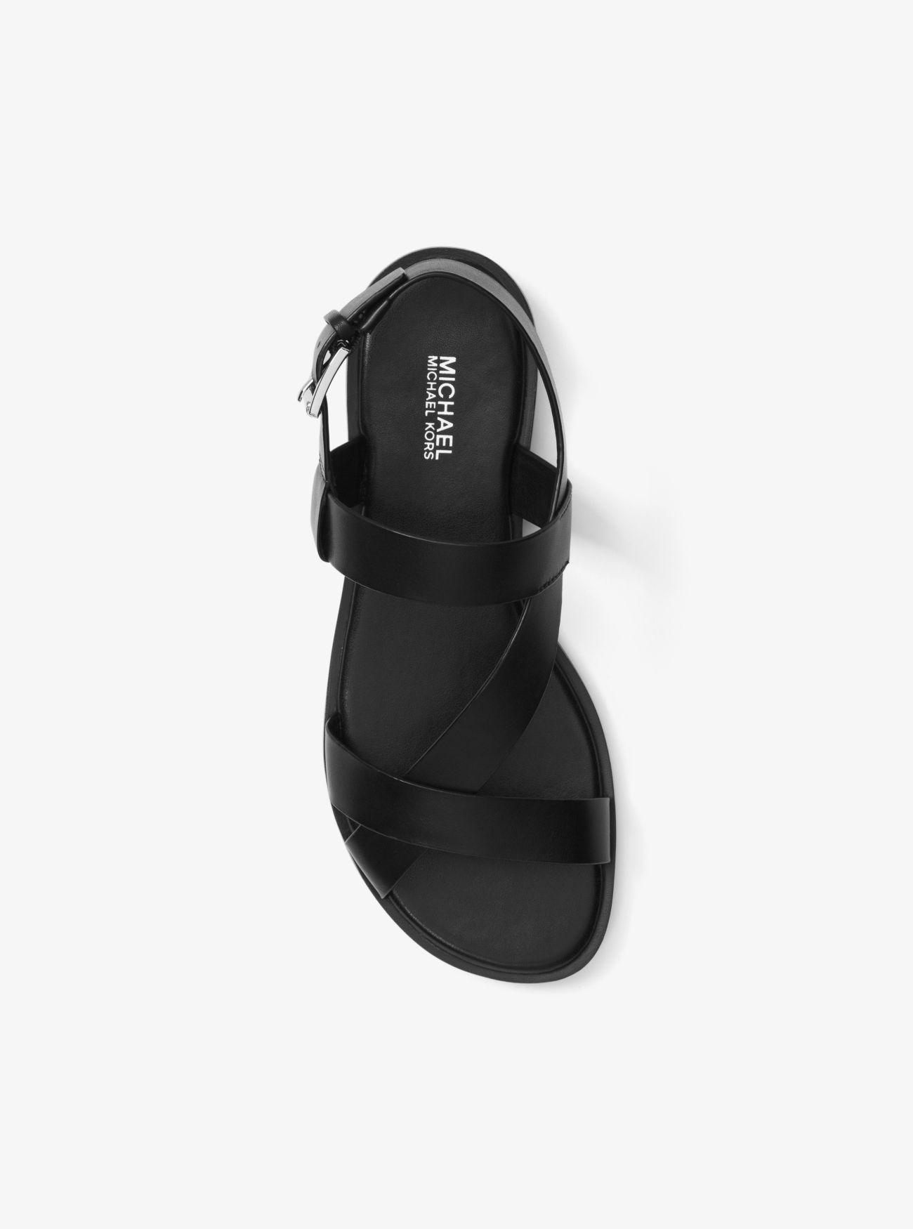 Michael Kors Mackay Leather Sandal in