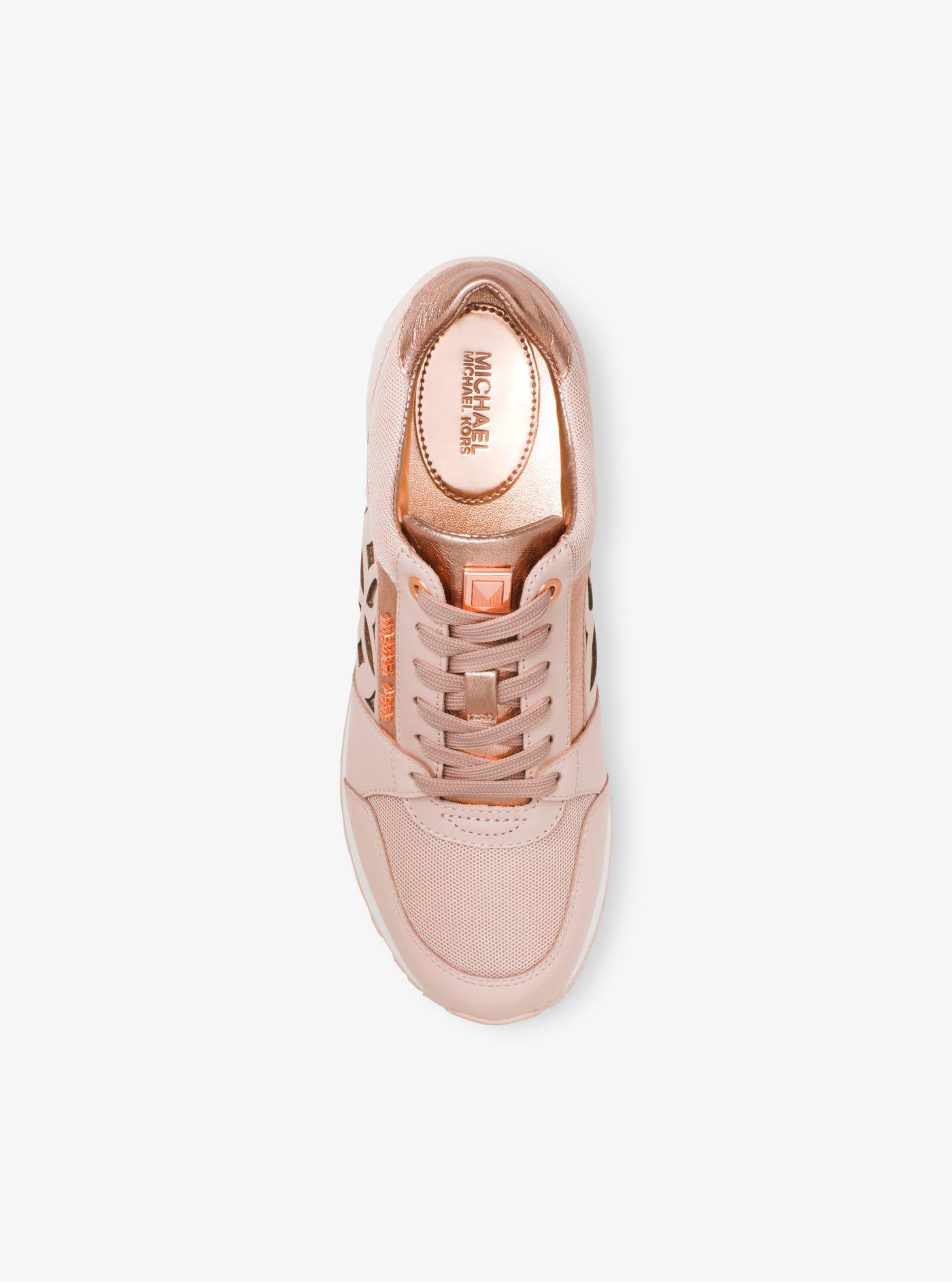 mimi perforated leather sneaker