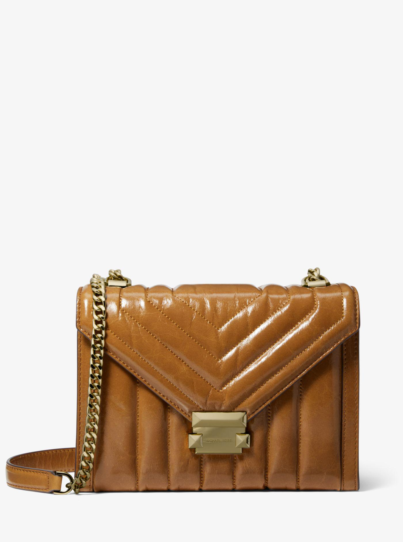 3120cc172453 Michael Kors. Women s Whitney Large Quilted Leather Convertible Shoulder Bag