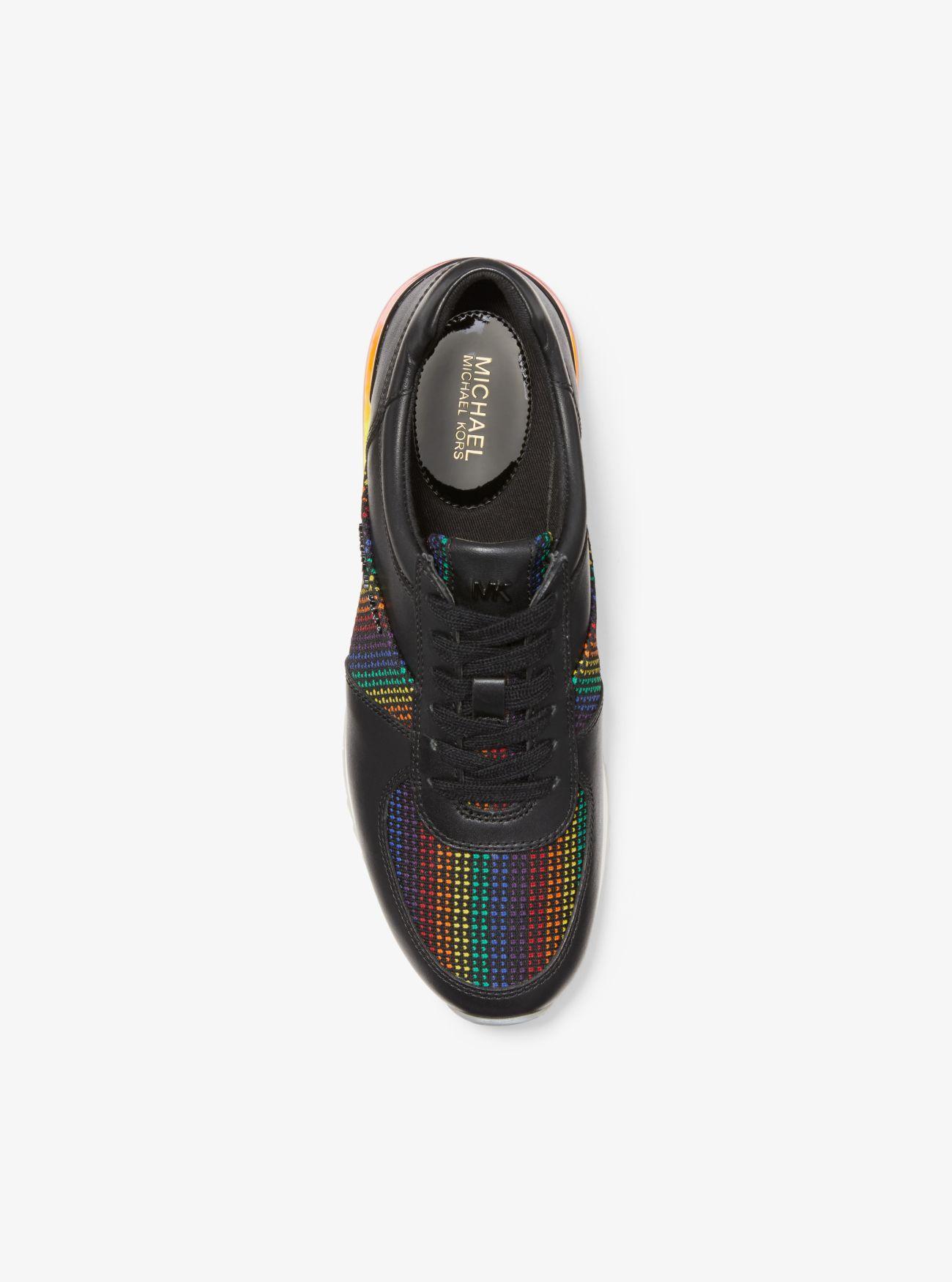 michael kors rainbow trainers
