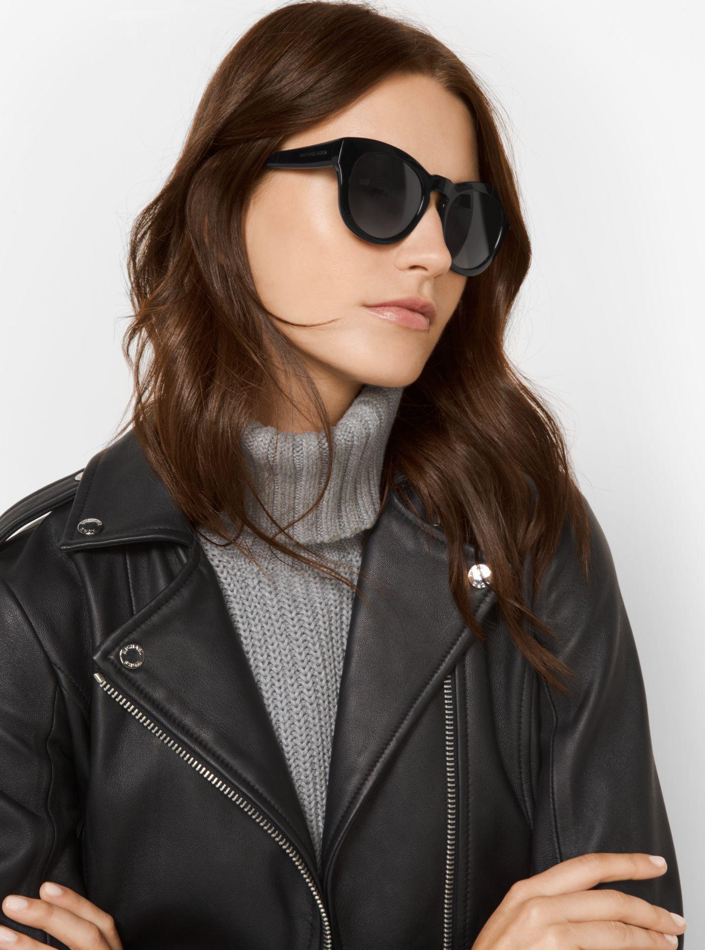 fc83cf64b3 Michael Kors - Black Summer Breeze Sunglasses - Lyst. View fullscreen