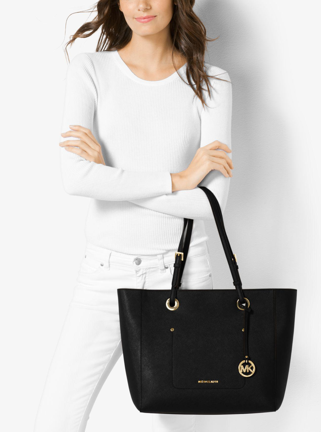 c68f2d4da3fd Walsh Large Saffiano Leather Tote Michael Kors | Stanford Center for ...