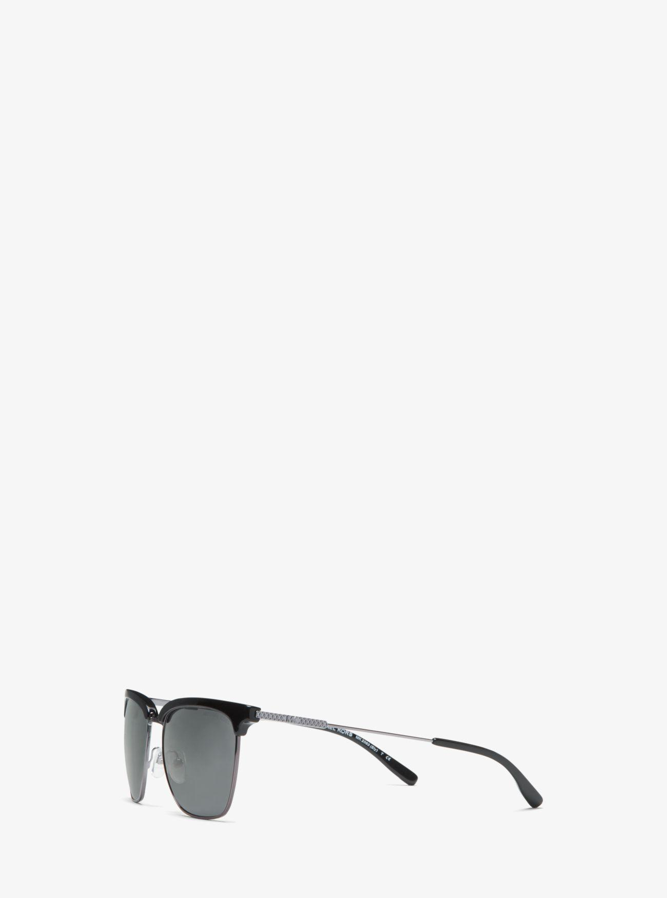 915bb0bbdbf2 Michael Kors Black Ely Sunglasses for men. View fullscreen