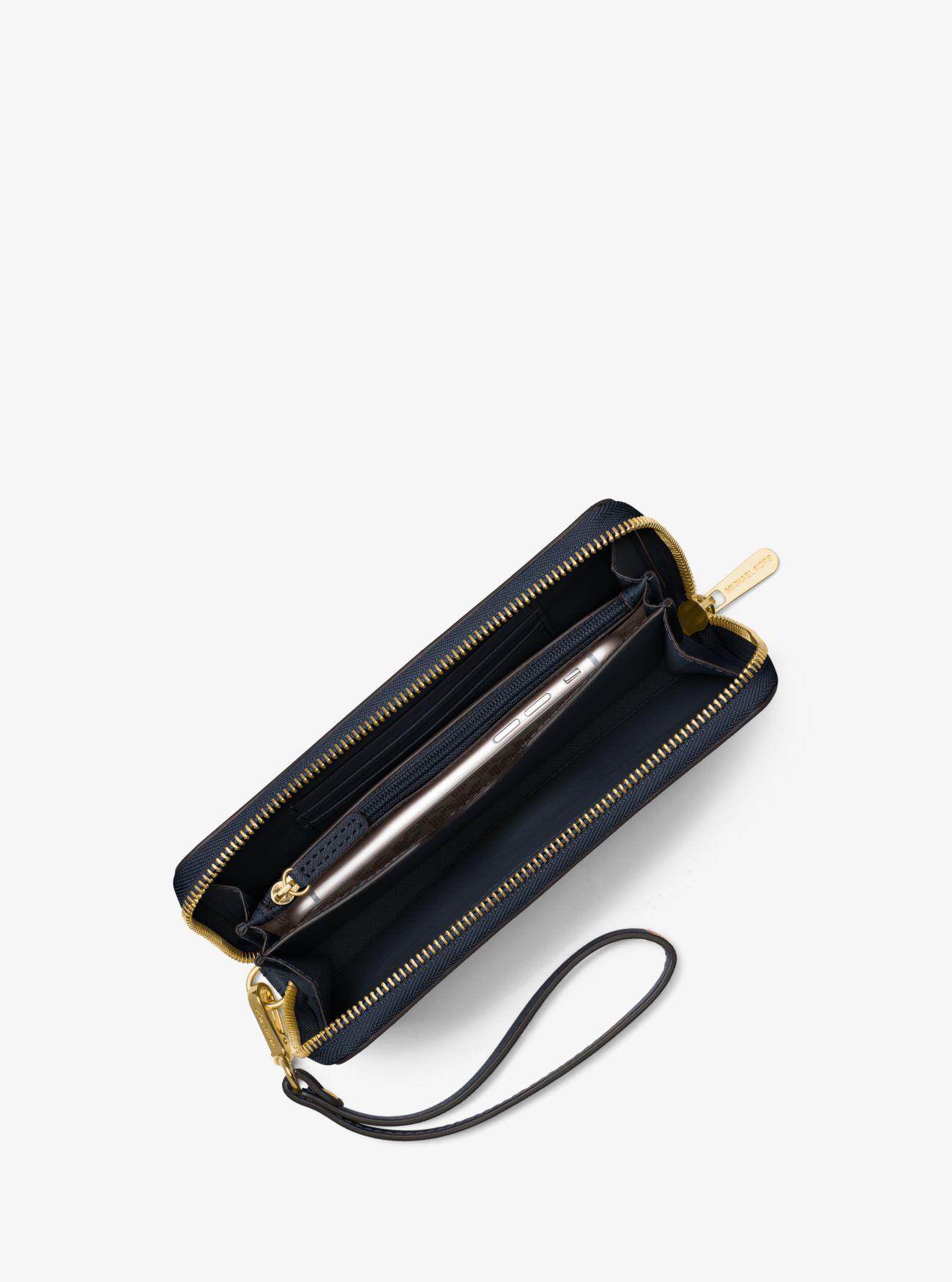 a05ed6c9e06c Michael Kors - Blue Travel Large Smartphone Wristlet - Lyst. View fullscreen