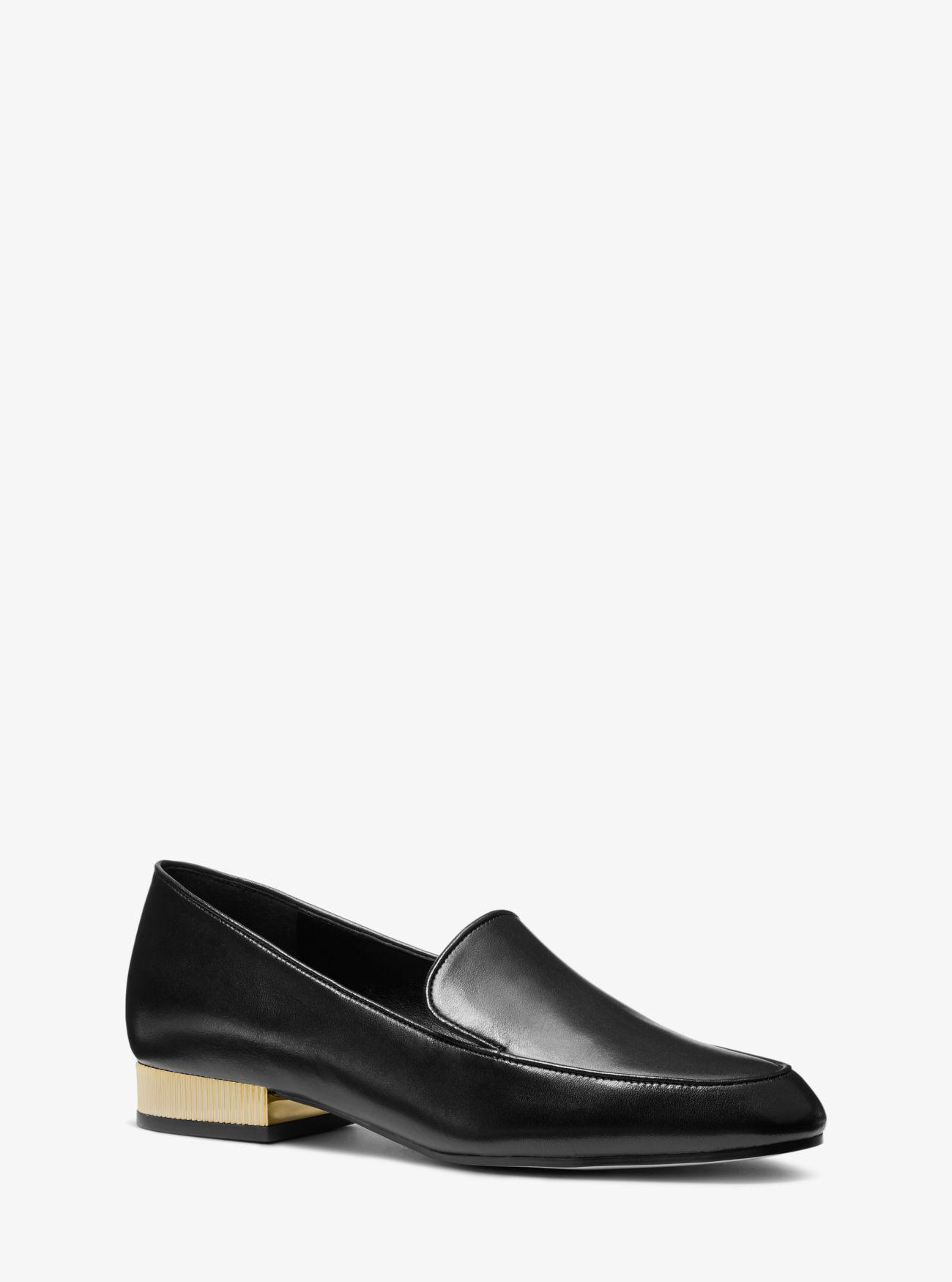 dd11895e626 Lyst - Michael Kors  valerie  Loafers in Black - Save 16%