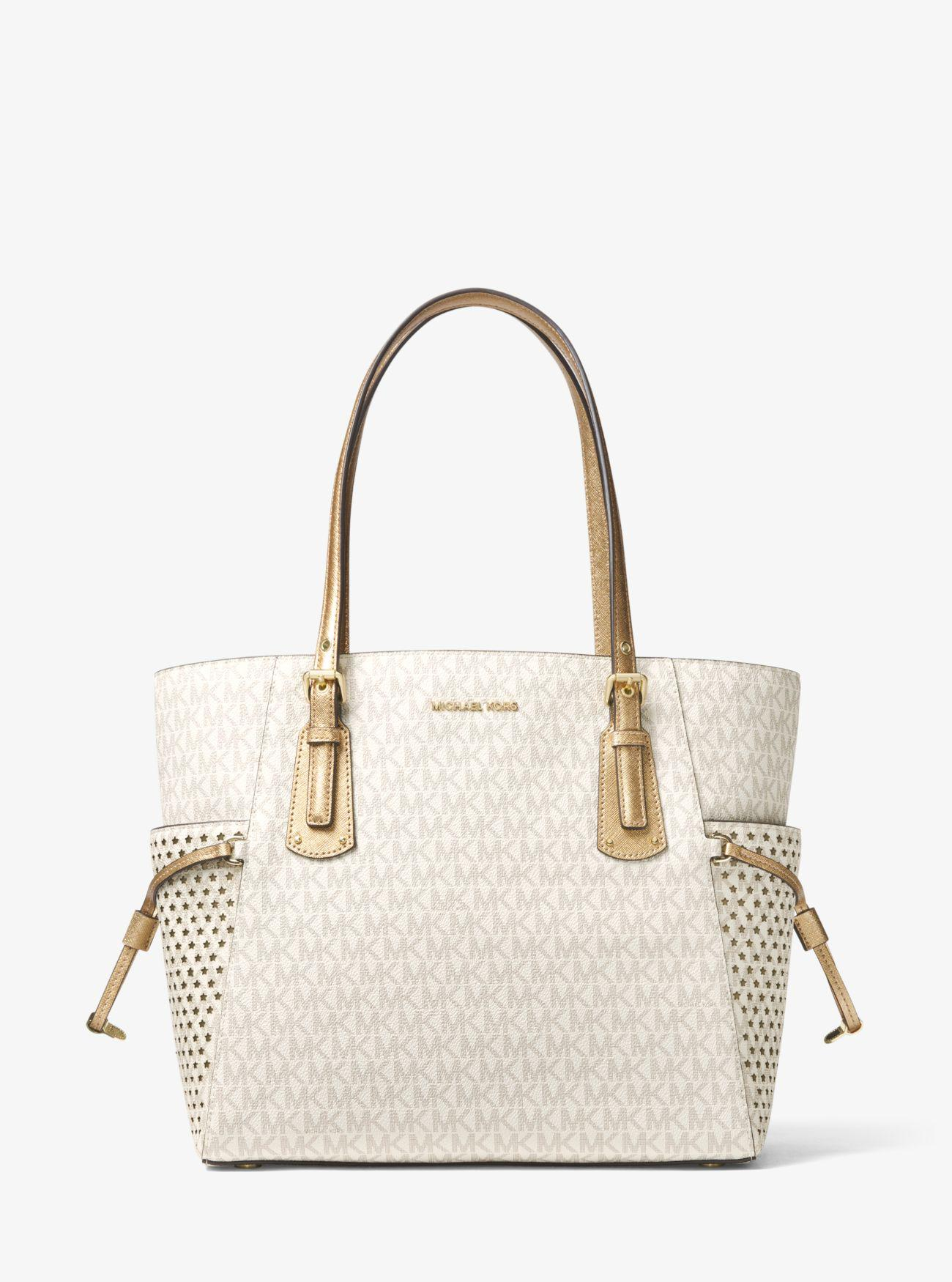 b5f9ae727e4f Michael Kors Logo Small Tote Bag   Stanford Center for Opportunity ...