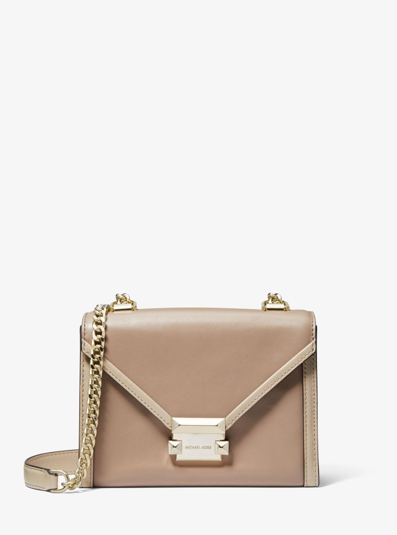 35feb60f18416 MICHAEL Michael Kors. Women s Whitney Small Two-tone Leather Convertible ...