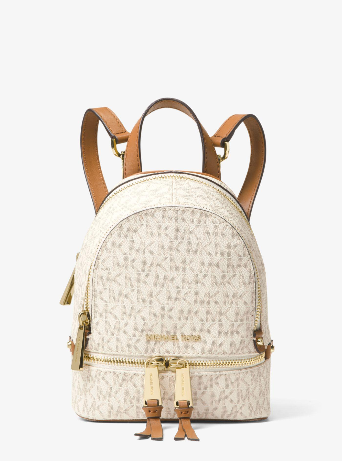 Michael Kors. Women s Rhea Mini Logo Backpack 950b73496a