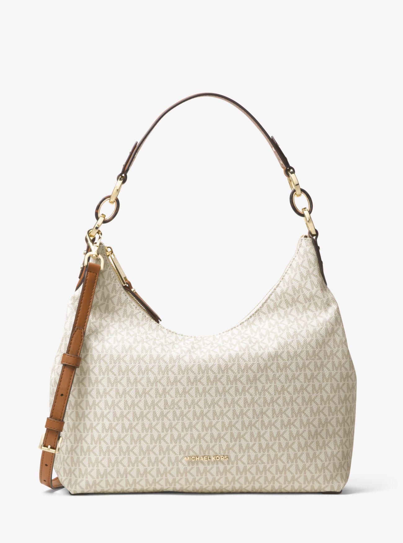 738b9c5cf5 Lyst - Michael Kors Isabella Large Logo Shoulder Bag