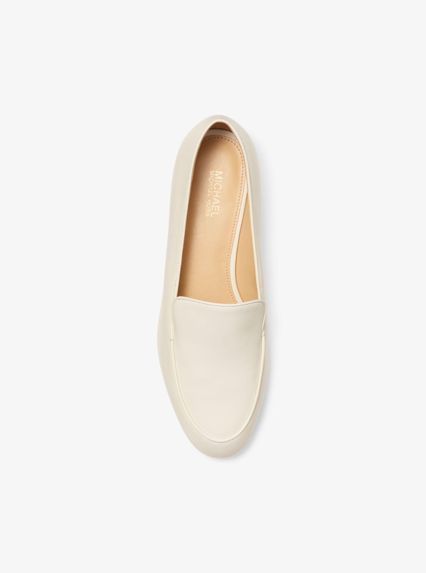 Michael Kors Valerie Leather Loafer - Lyst