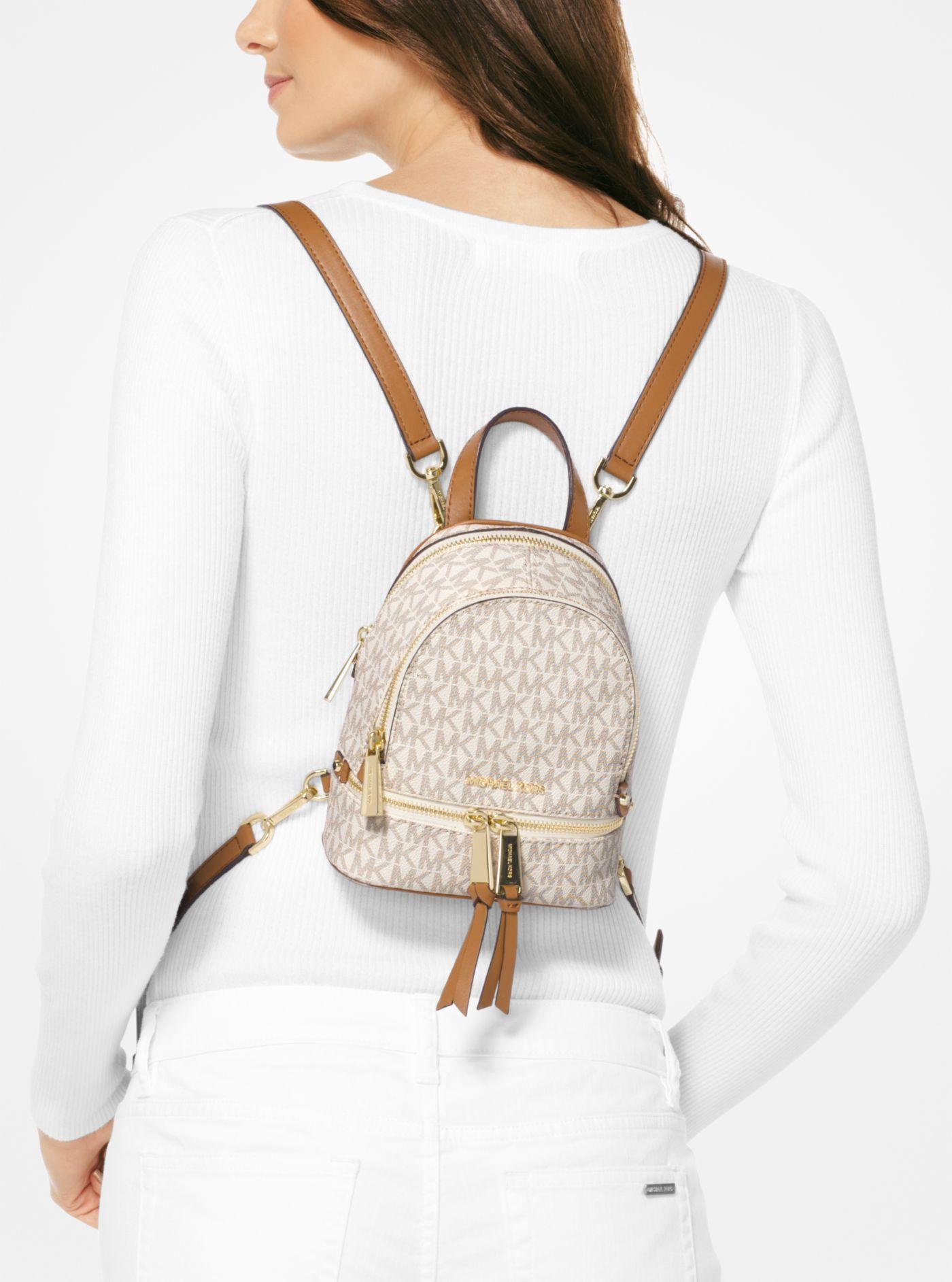 Rhea Mini Logo Backpack