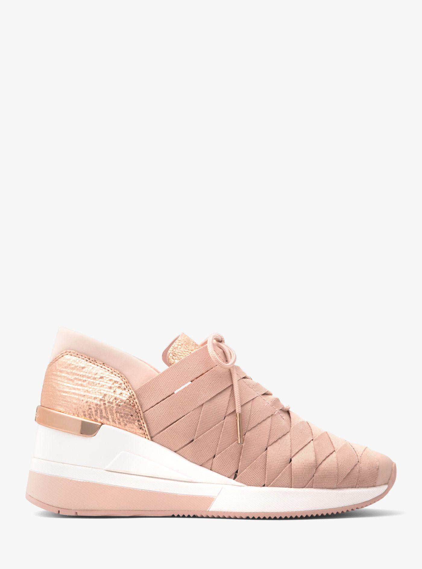 Cydney Metallic Webbed Sneaker