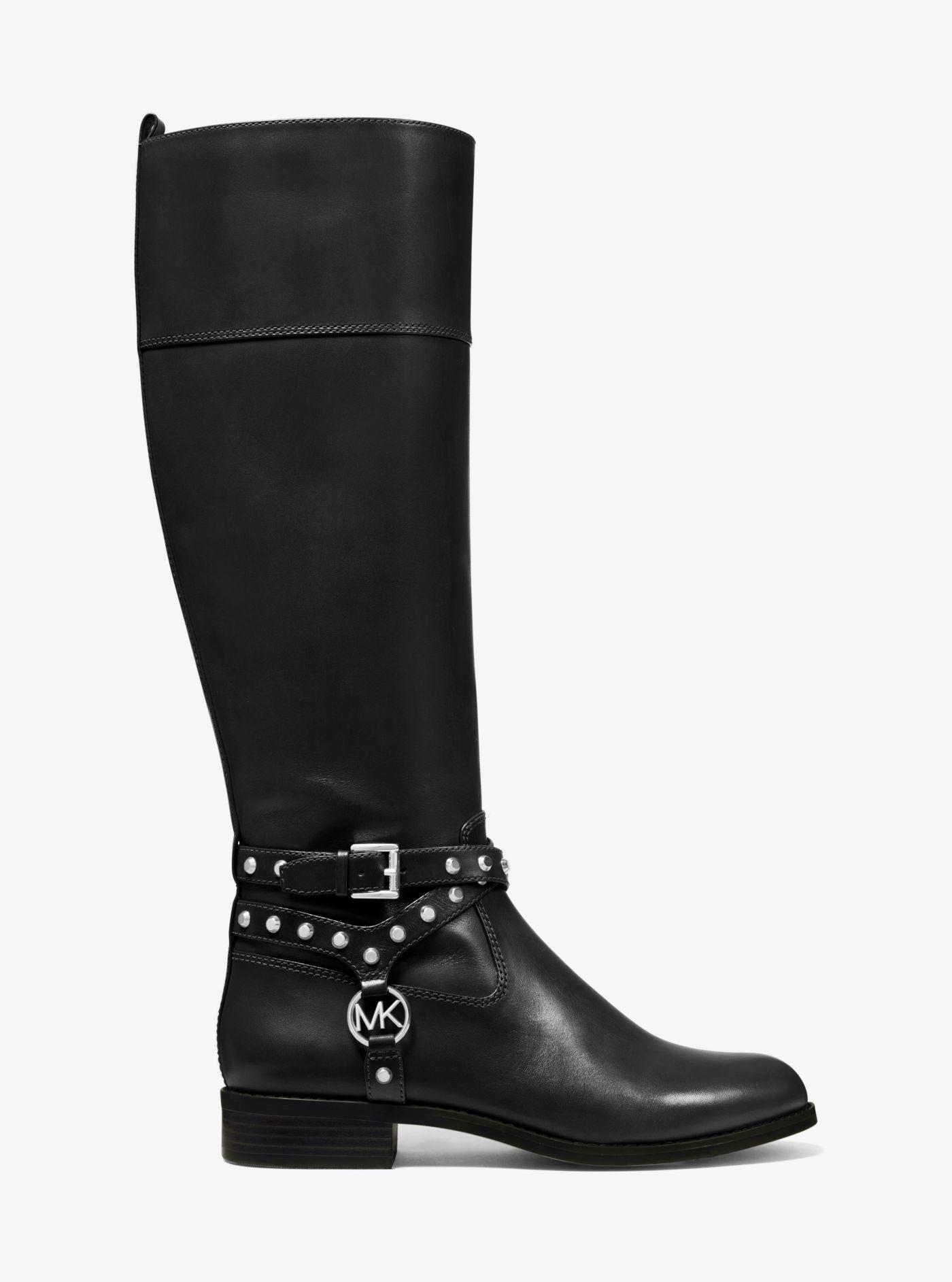 Michael Kors Preston Studded Leather