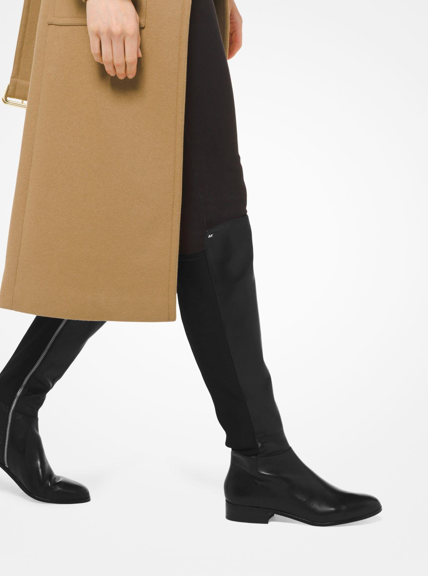 Bromley Leather \u0026 Stretch Tall Boots