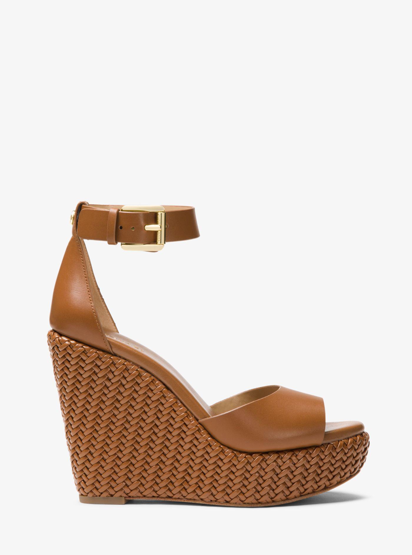 Womens Michael Kors Mica Black Sandals Z53119