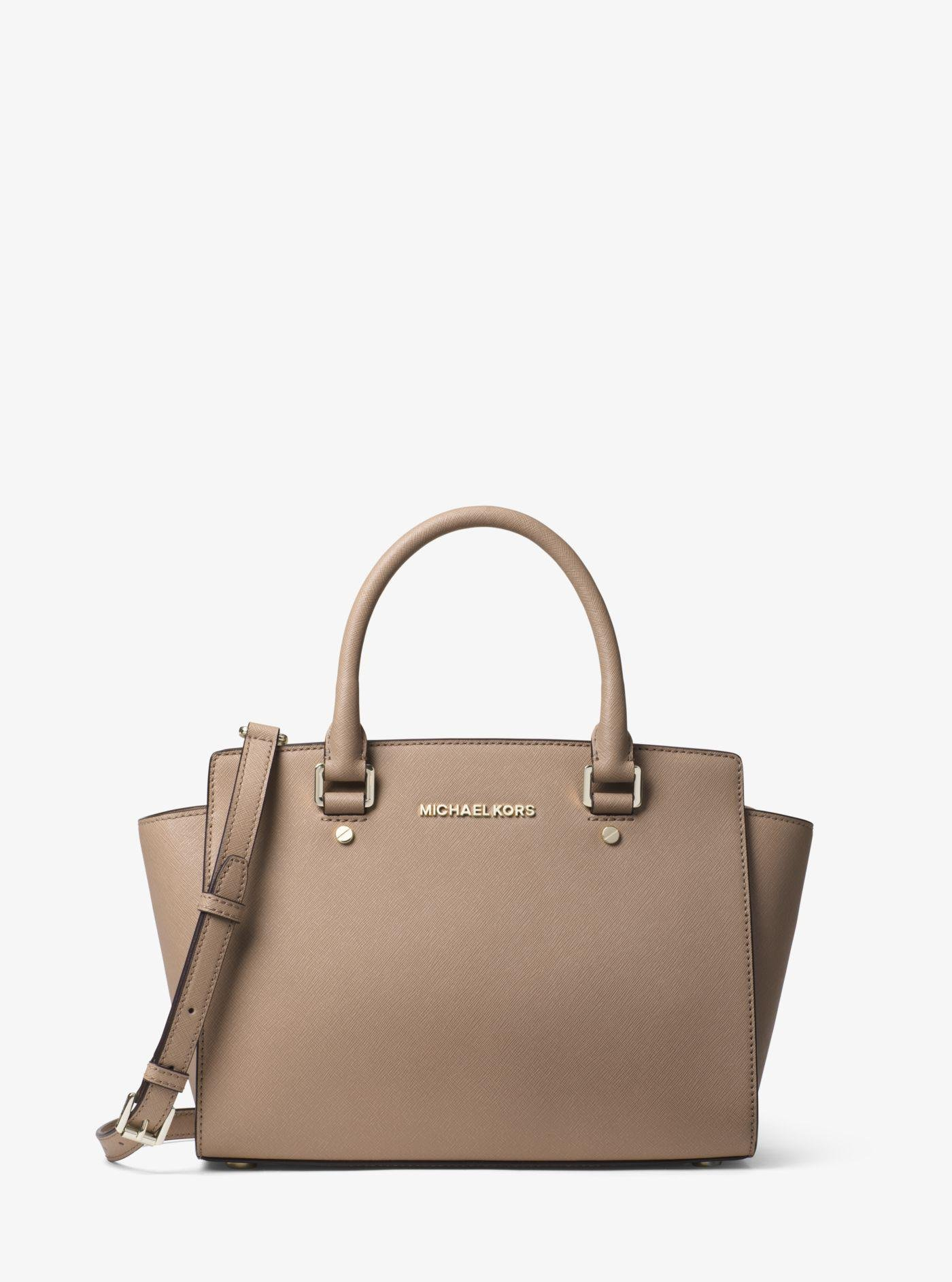 ... coupon code for michael kors multicolor selma medium saffiano leather  satchel lyst. view fullscreen 149b3 289a1665f01c6