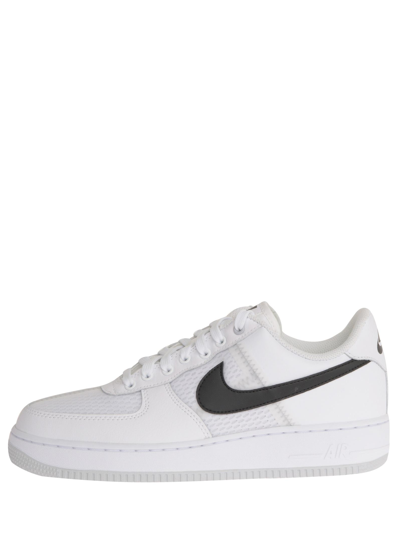 Nike Air Force 1 '07 Lv8 White Mesh And Leather Sneakers With ...