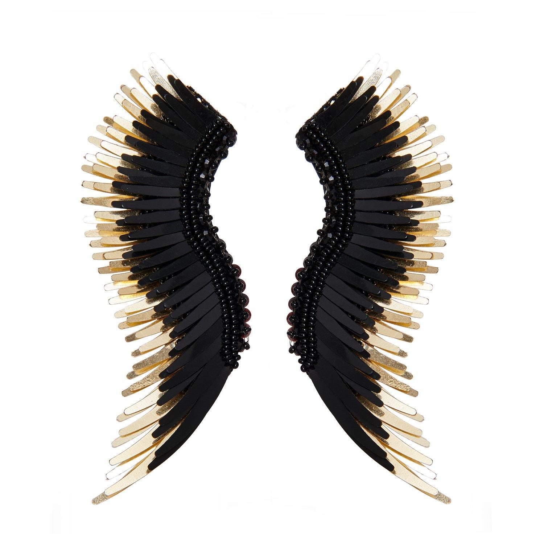 19e170951 Mignonne Gavigan Black Madeline Earrings in Black - Save 38% - Lyst