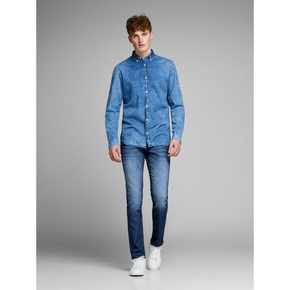 Jack & Jones Denim Slim Fit Jeans Glenn Original Jos 919 in het Blauw voor heren