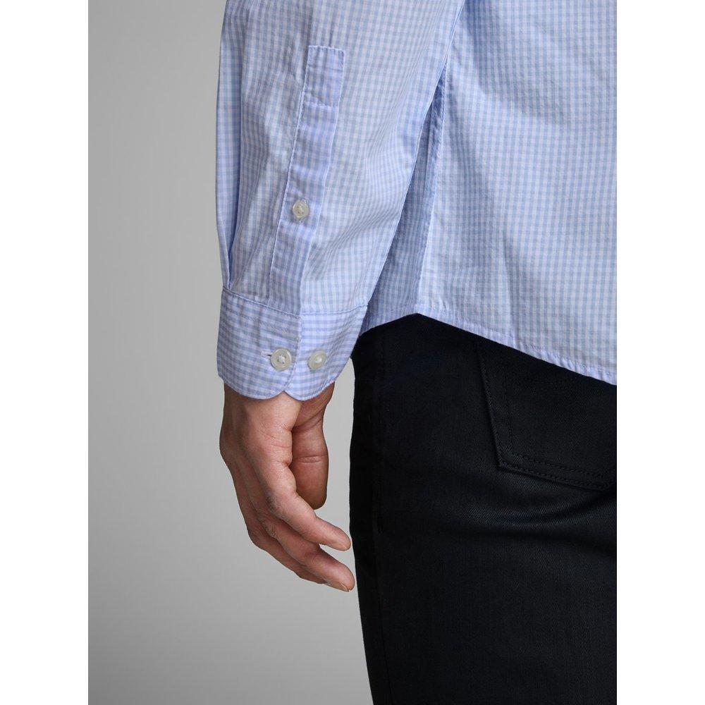 Jack & Jones Overhemd Slim Fit Geruit in het Blauw voor heren