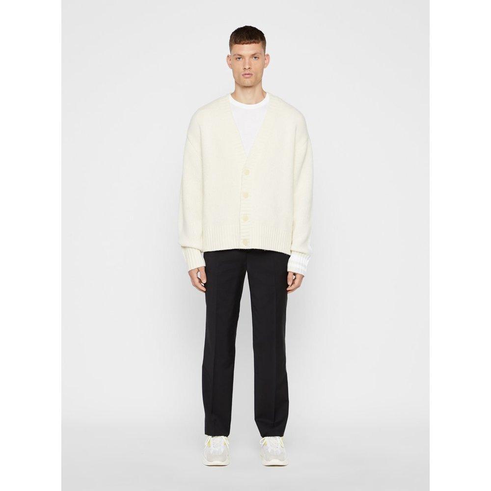 J.Lindeberg Synthetisch Gebreid Vest Oversized in het Wit voor heren