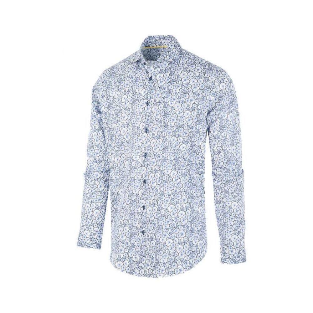 BLUE INDUSTRY Wit Heren Overhemd Met Print - 1262.92 in het Blauw voor heren
