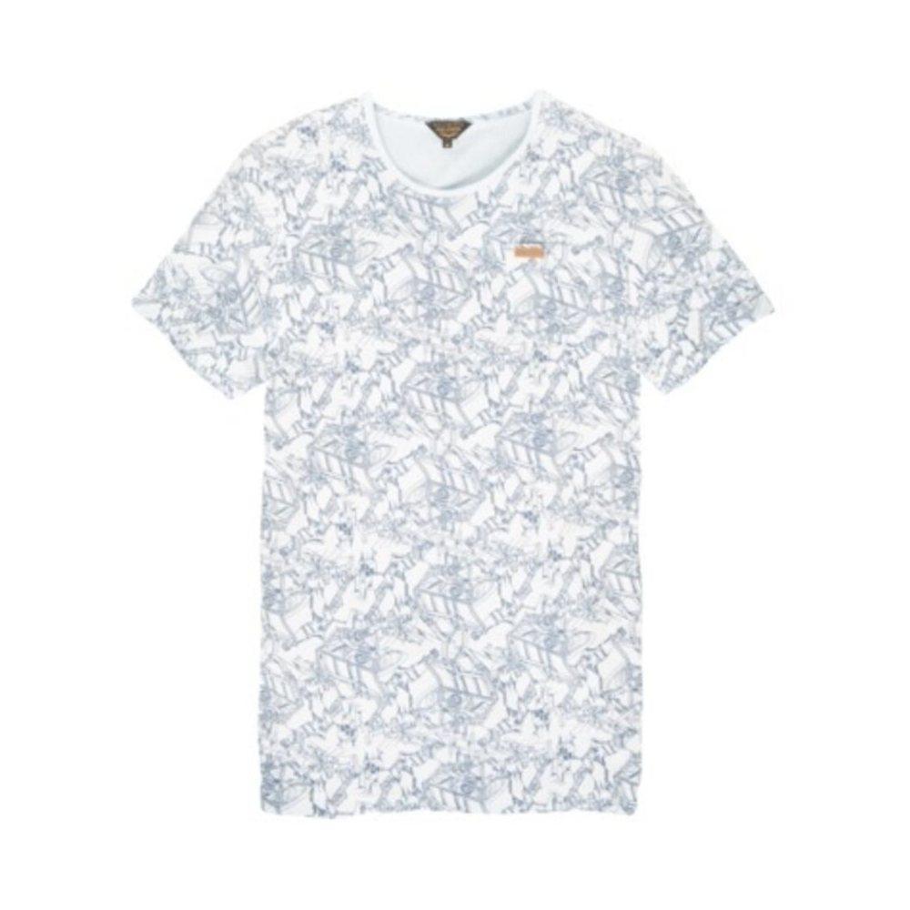 PME LEGEND Single Jersey S/s in het Wit voor heren