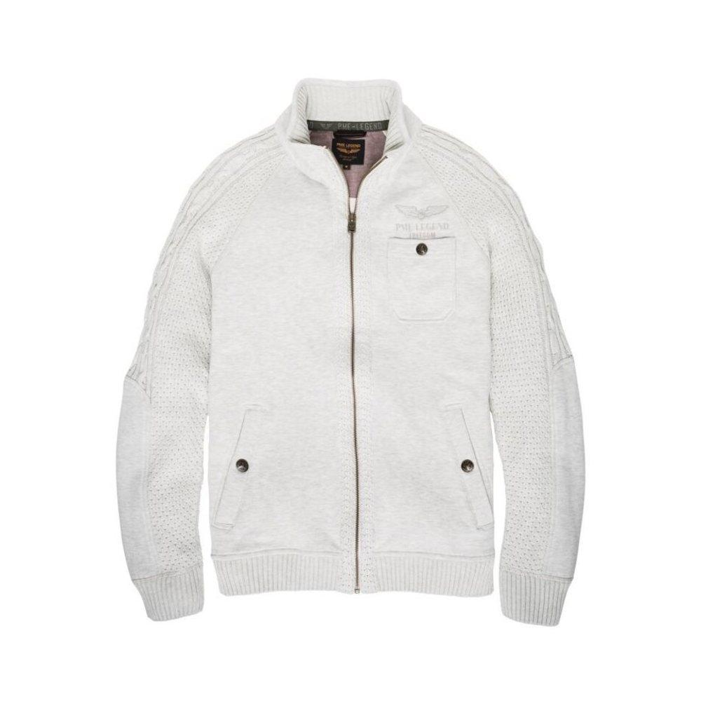 PME LEGEND Synthetisch Full Zip Jacket Manhattan in het Wit voor heren