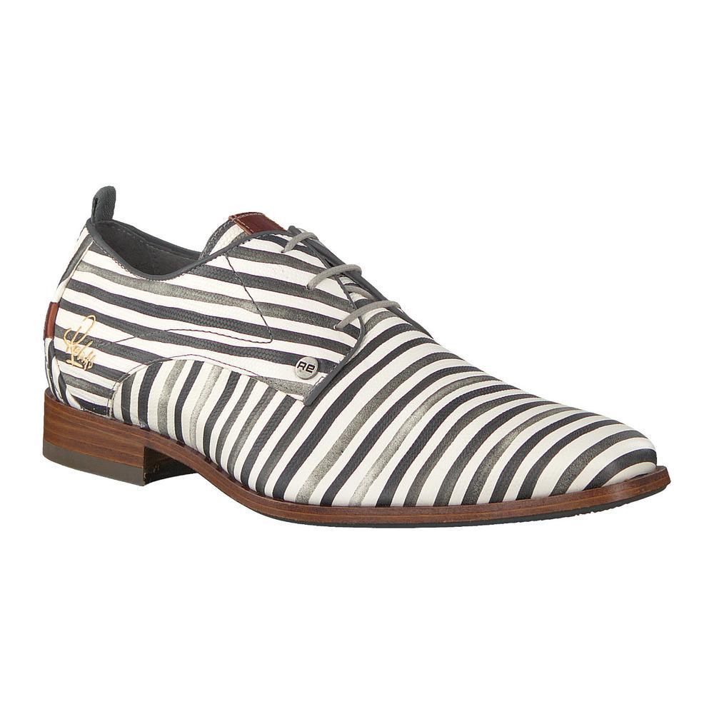 Rehab Heren Nette Schoenen Greg Stripes Liz in het Wit voor heren