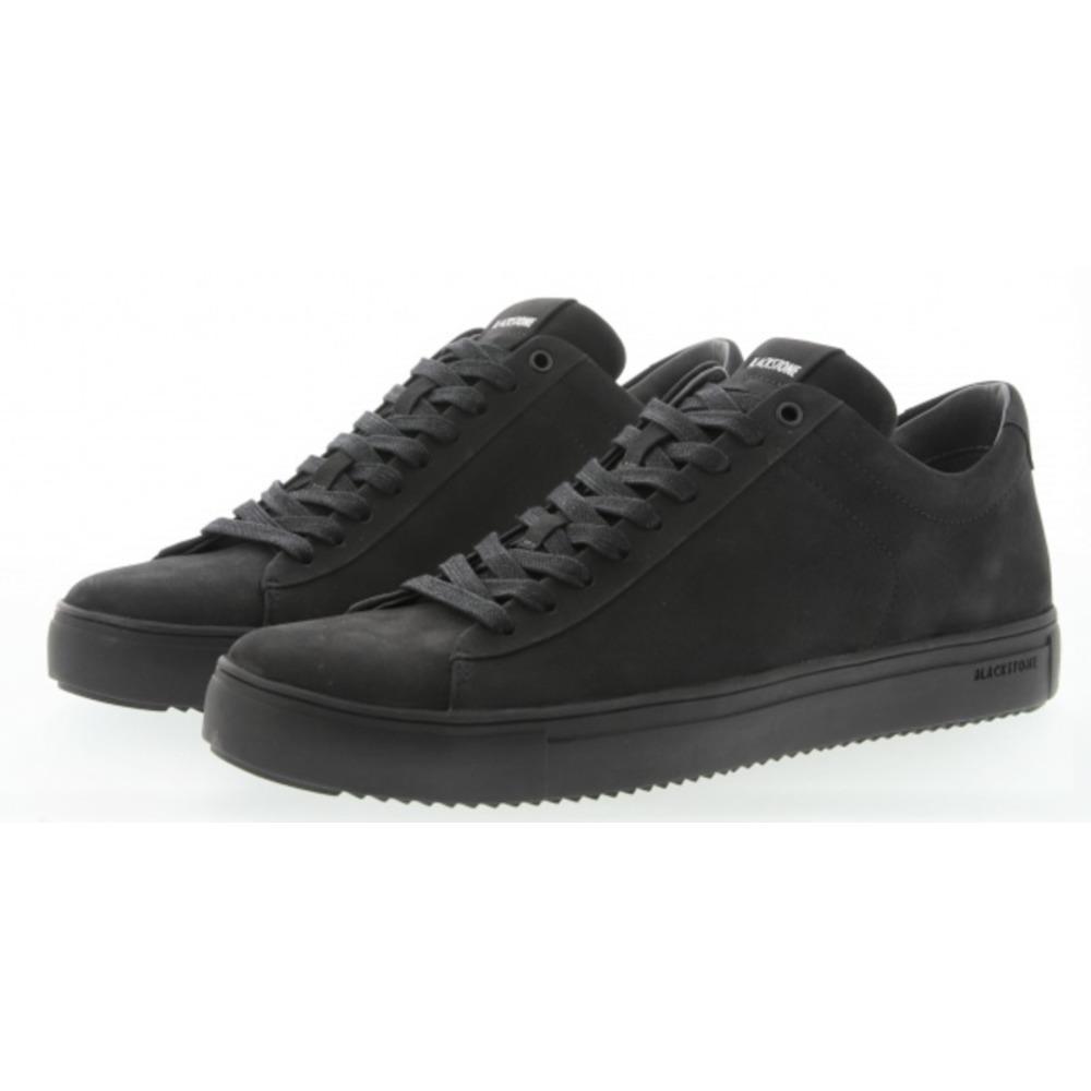 Blackstone Rubber Sneaker Veterschoen in het Zwart voor heren