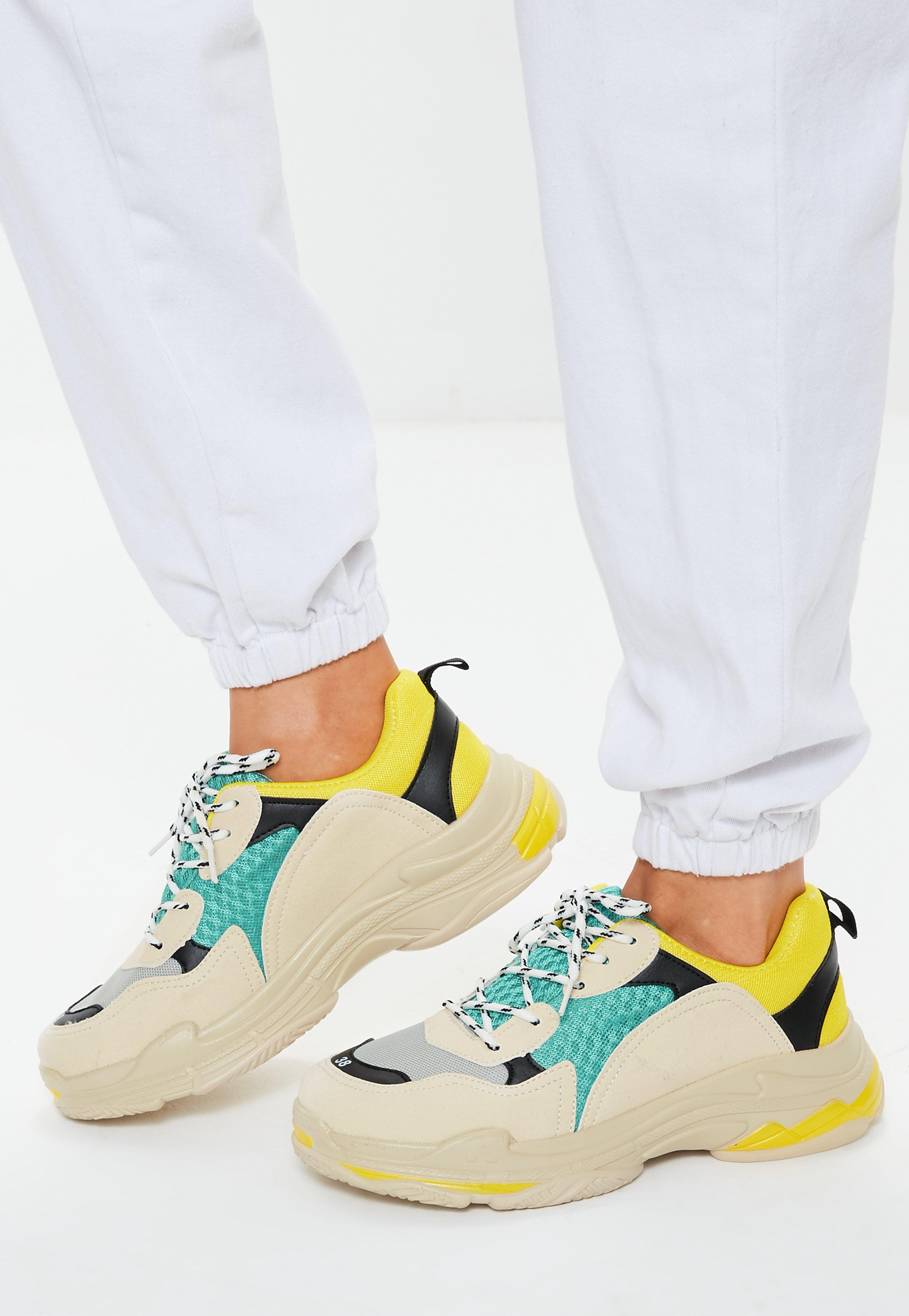 Missguided Yellow Contrast Sole Colour