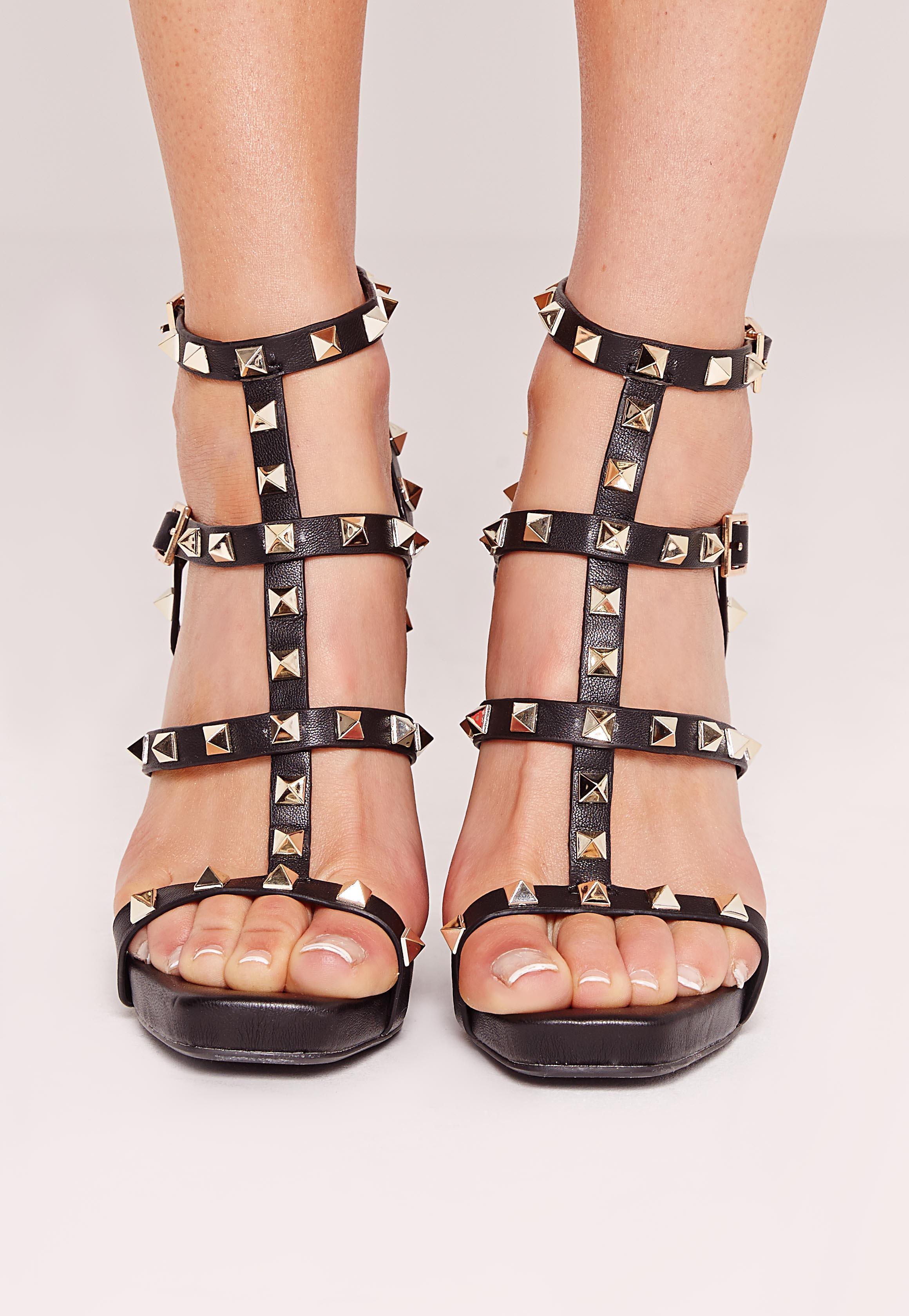 Cons of black strappy heels - fashionarrow.com