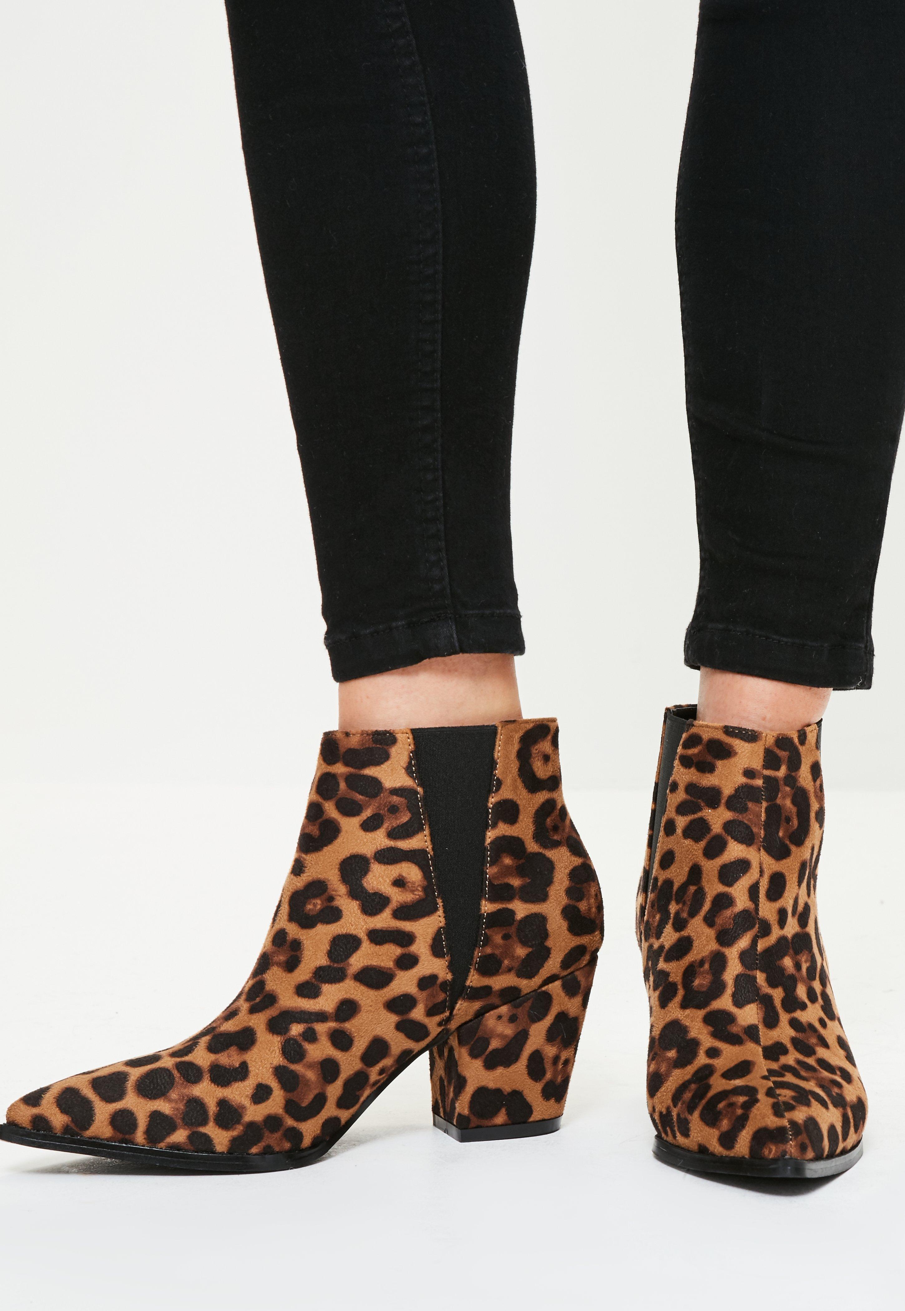 Snake Print Stiletto Heel Side Zipper Color Block Pointed