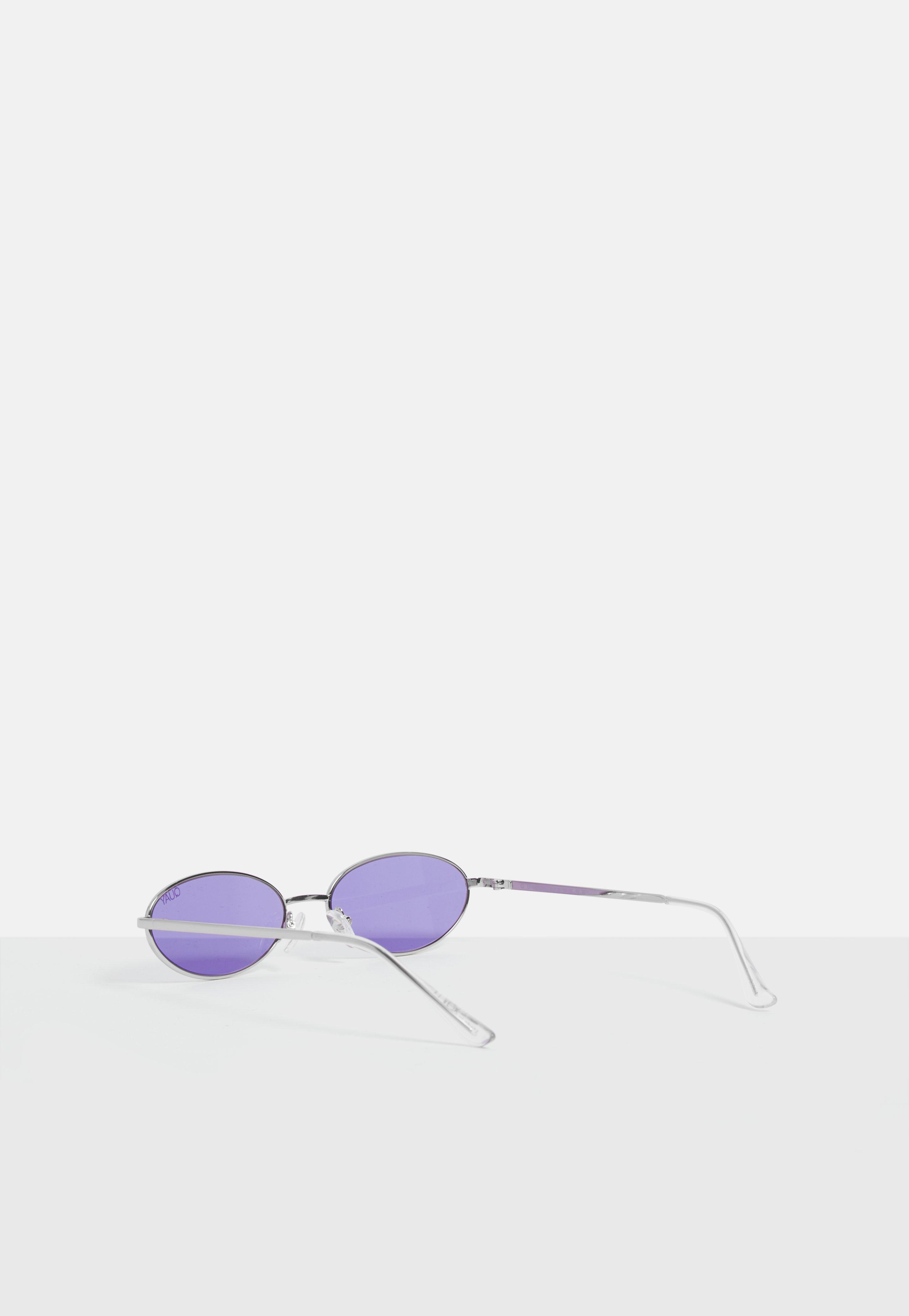dd85a7b162 Missguided - Quay Australia X Alissa Violet Clout Purple Sunglasses - Lyst.  View fullscreen