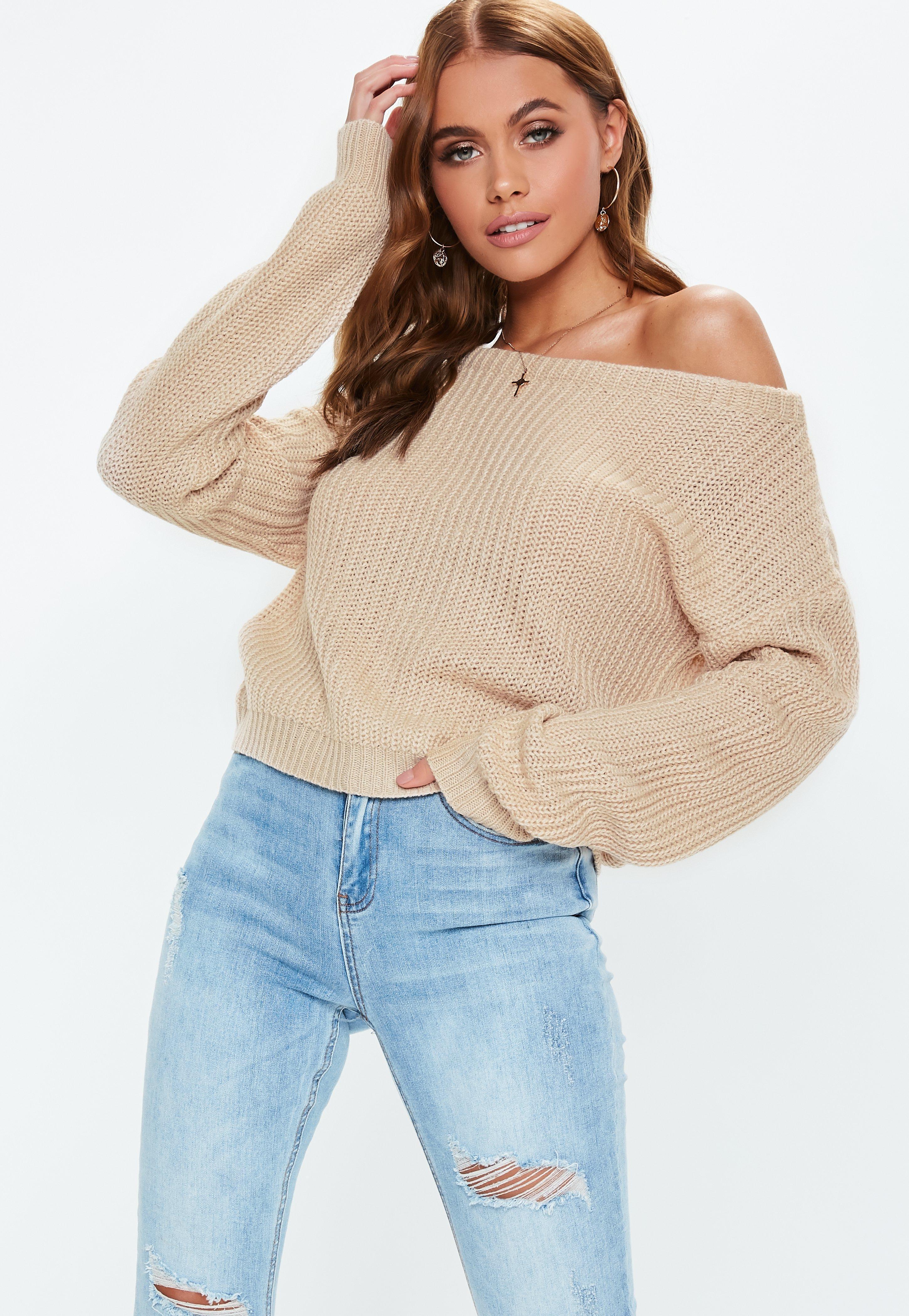 Staples Cropped Sweater - Sky Blue - Ryderwear