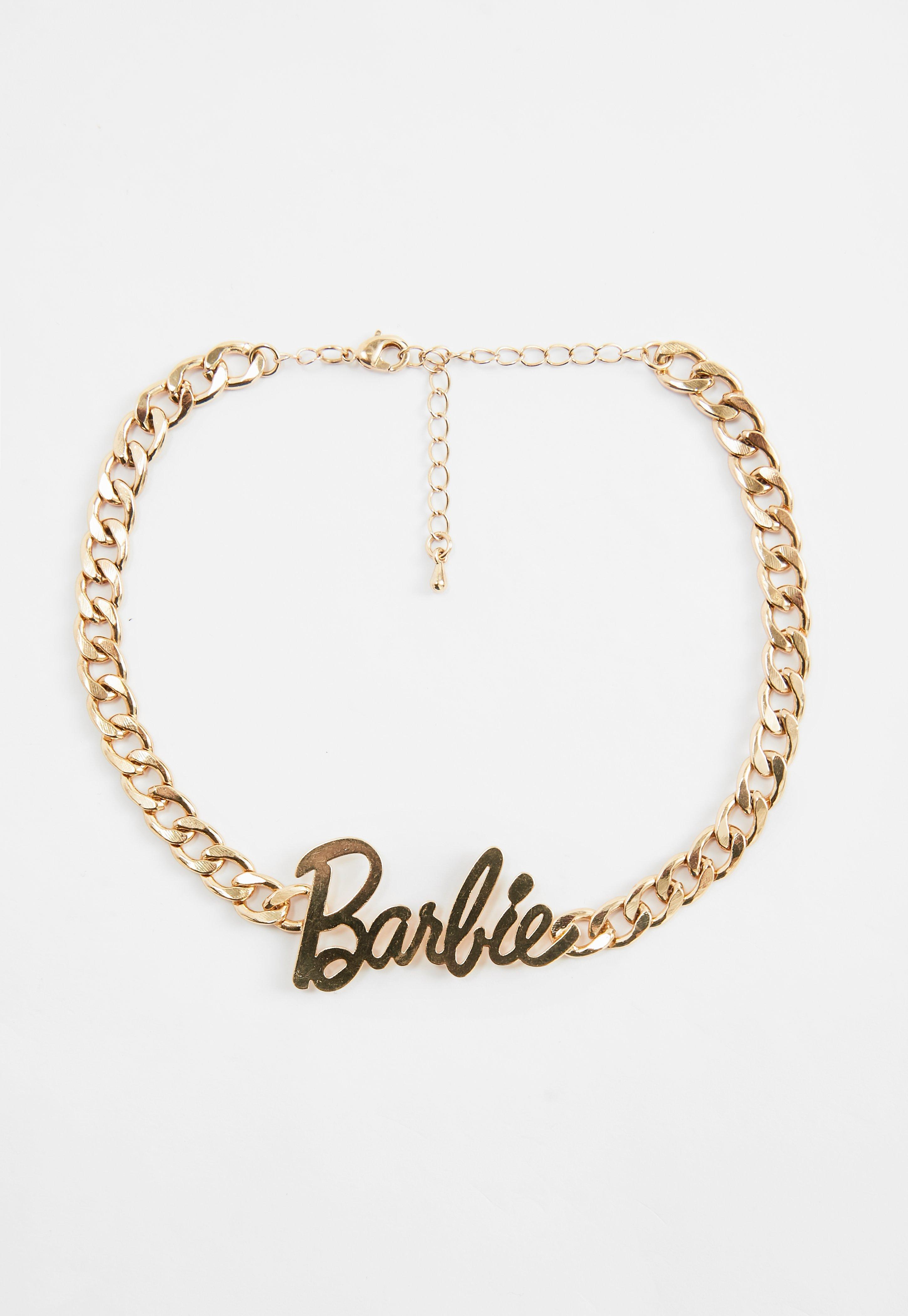 BARBIE JEWELRY GOLD BOW TIE SHAPED NECKLACE EARRINGS /& BRACELET  for Barbie