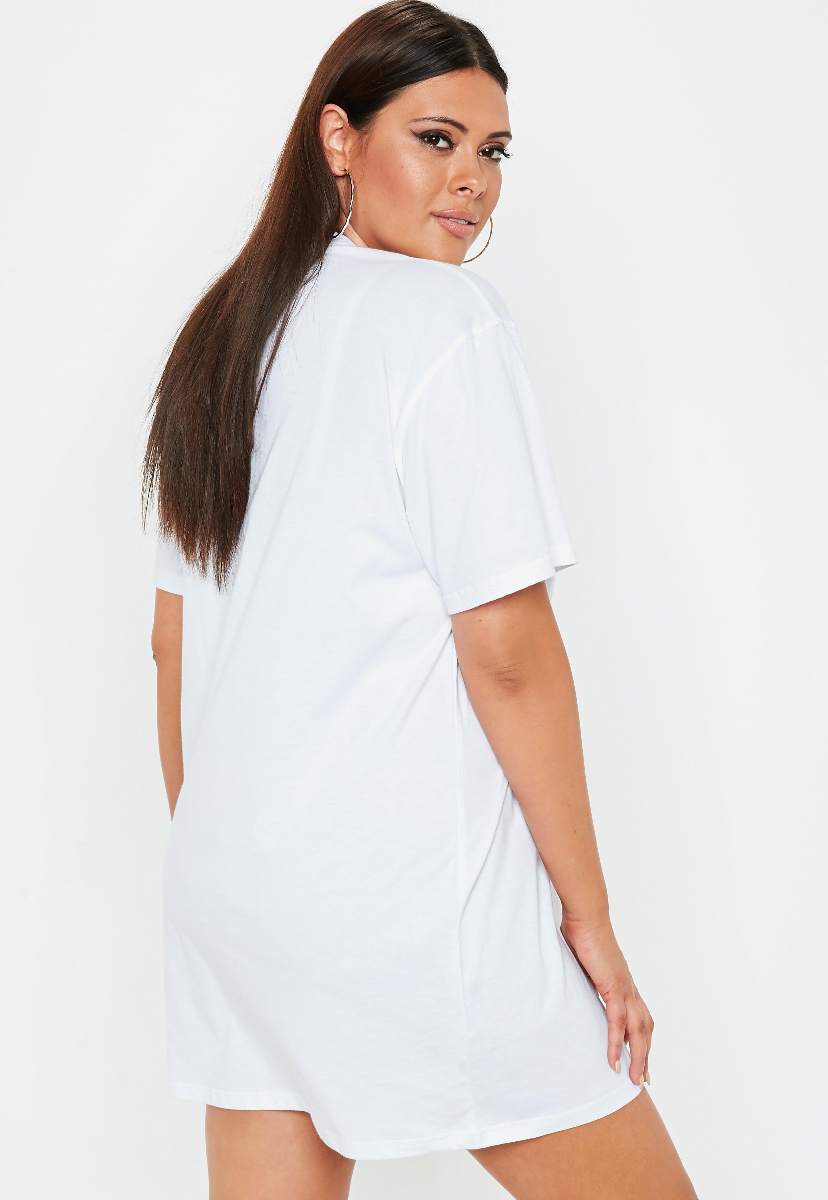 plus tee shirt dress cheap online