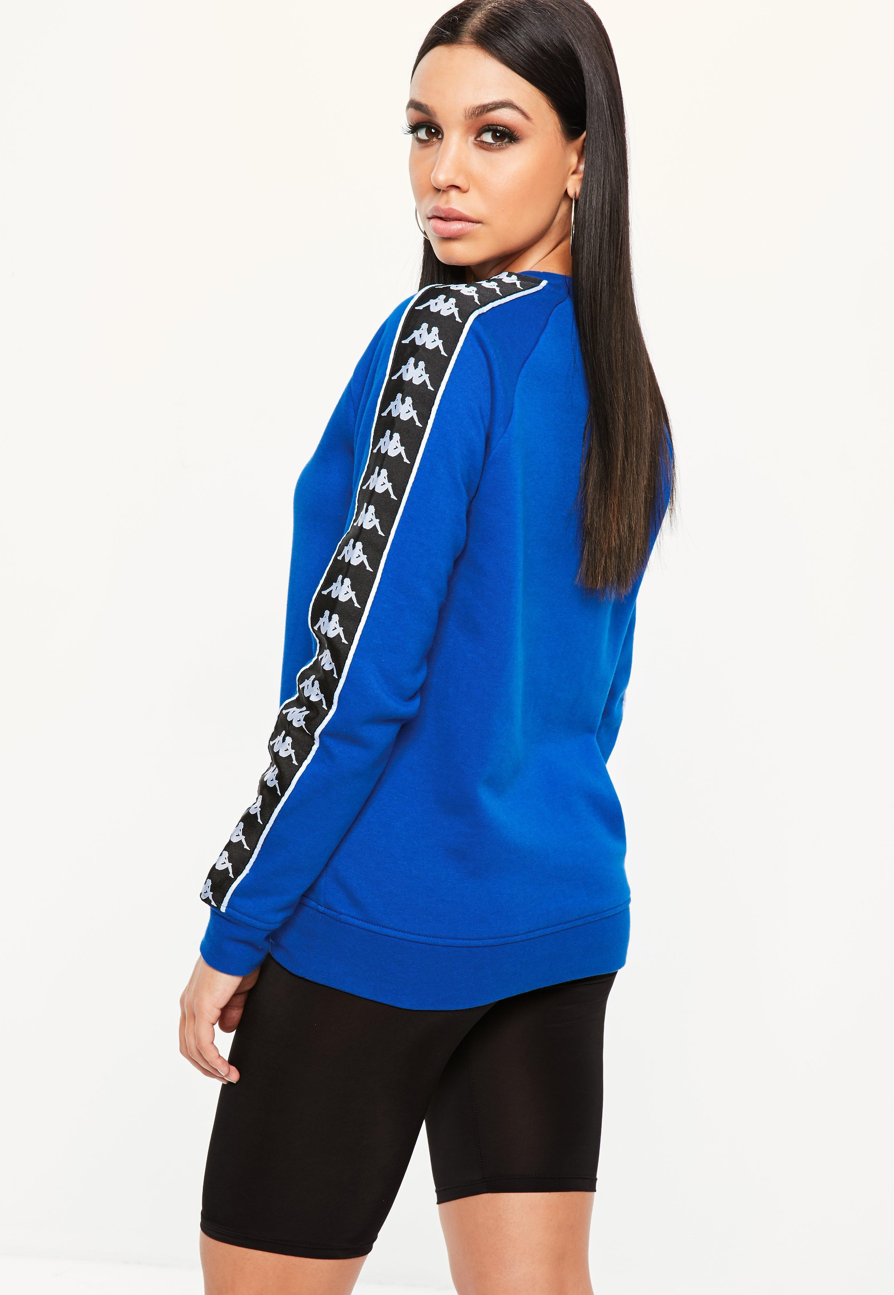 Missguided Kappa Blue Authentic Hassan Fleece
