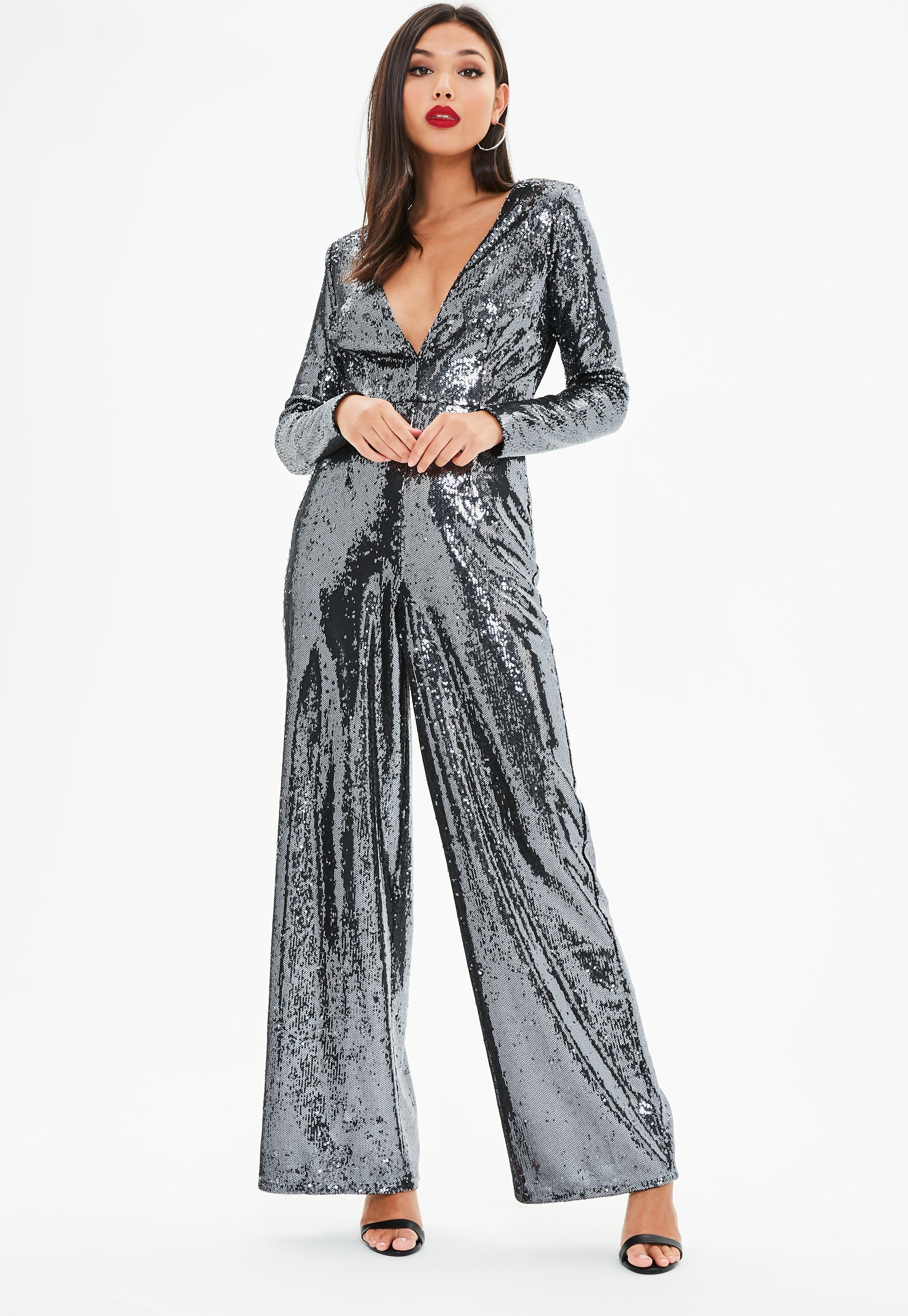 5c7fb9a76e4 Gallery. Previously sold at  Missguided · Women s Black Jumpsuits ...