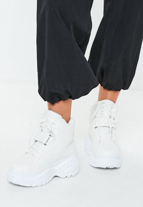Missguided White Super Chunky Sole