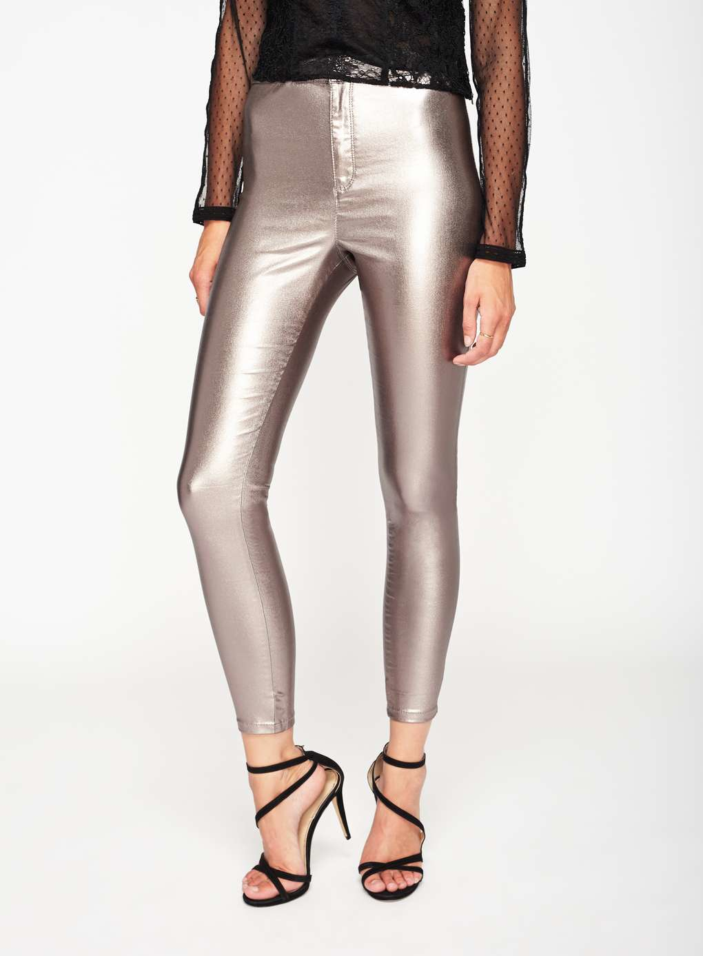 Silver Colored Jeans - Xtellar Jeans