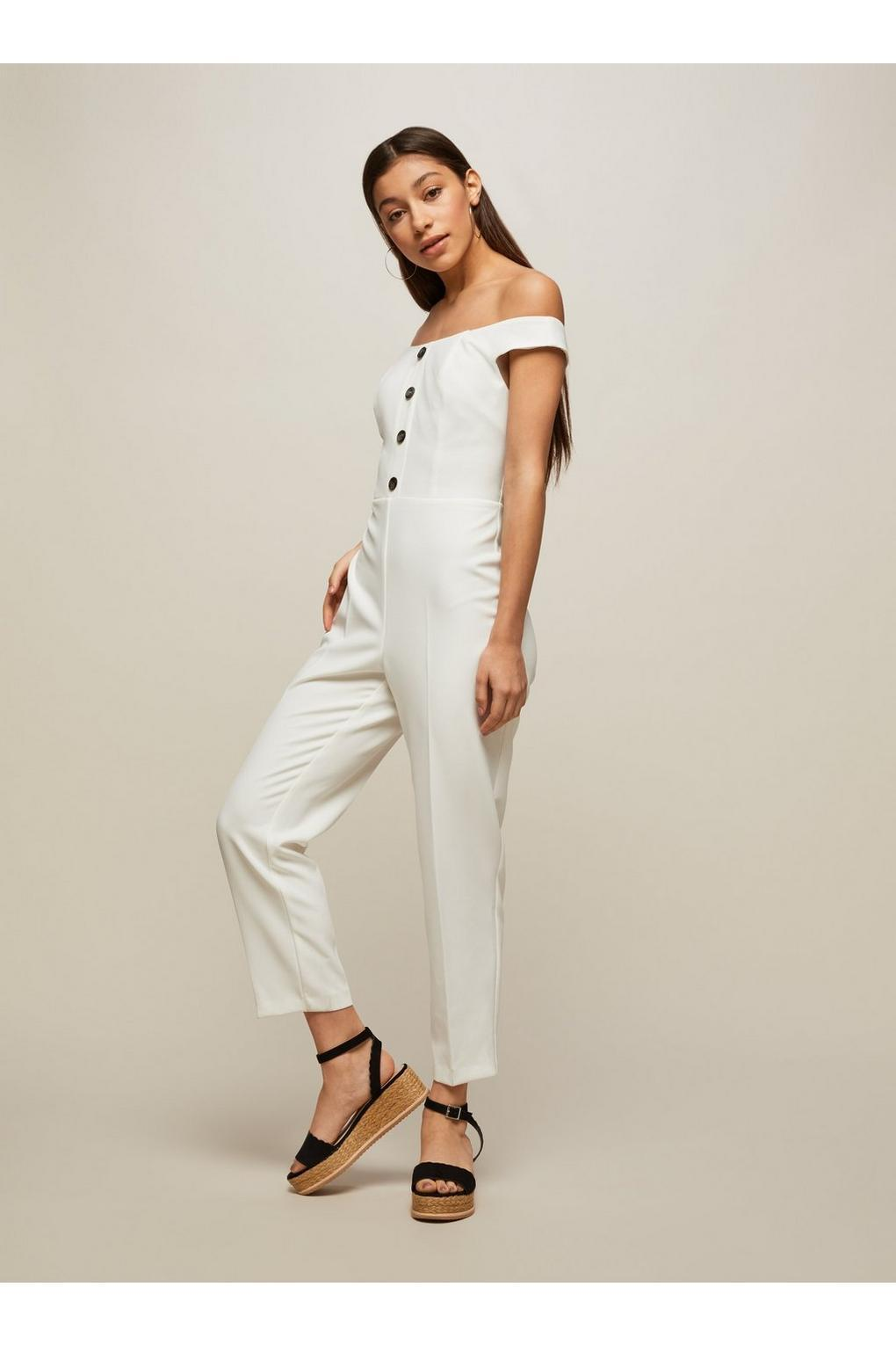 6a7934909a2 Gallery. Previously sold at  Miss Selfridge · Women s Sheer Jumpsuits ...