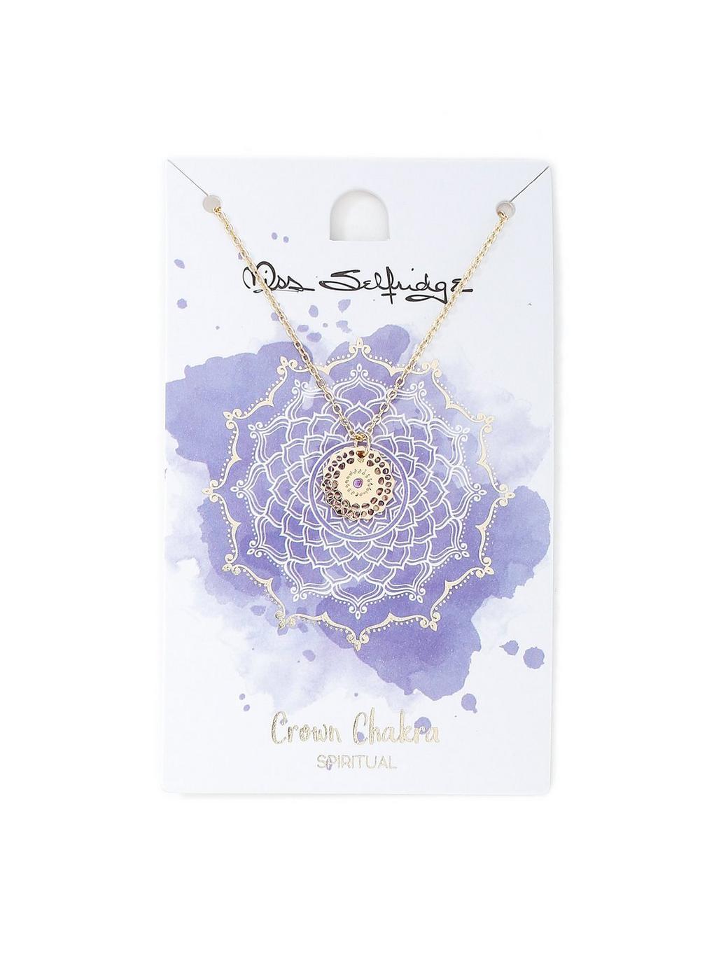 Miss Selfridge Crown Chakra Necklace