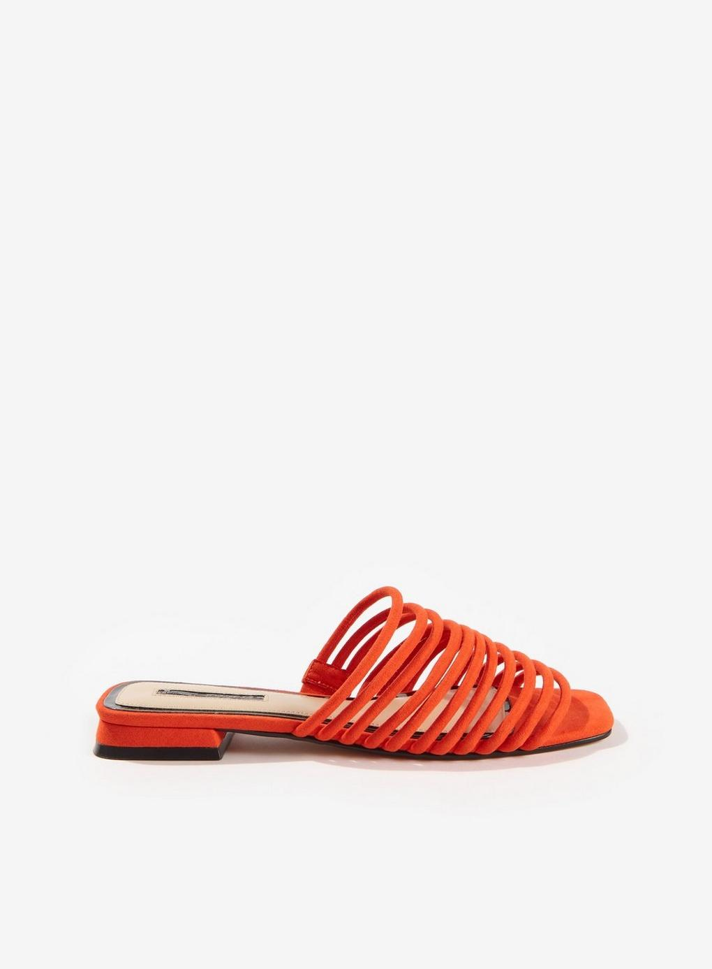 342b514dd9ab Miss Selfridge Eden Red Multi Strap Sandals in Red - Lyst