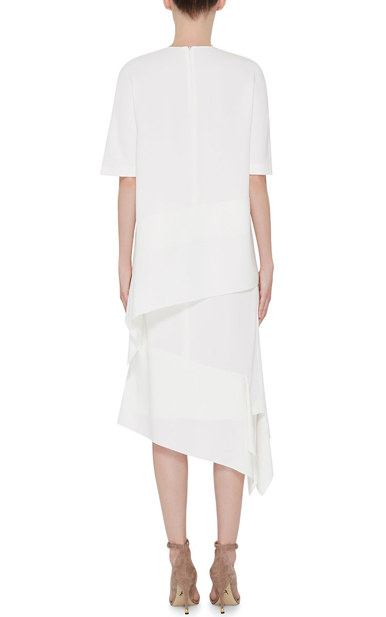 Joseph Leo Asymmetrical Skirt in White