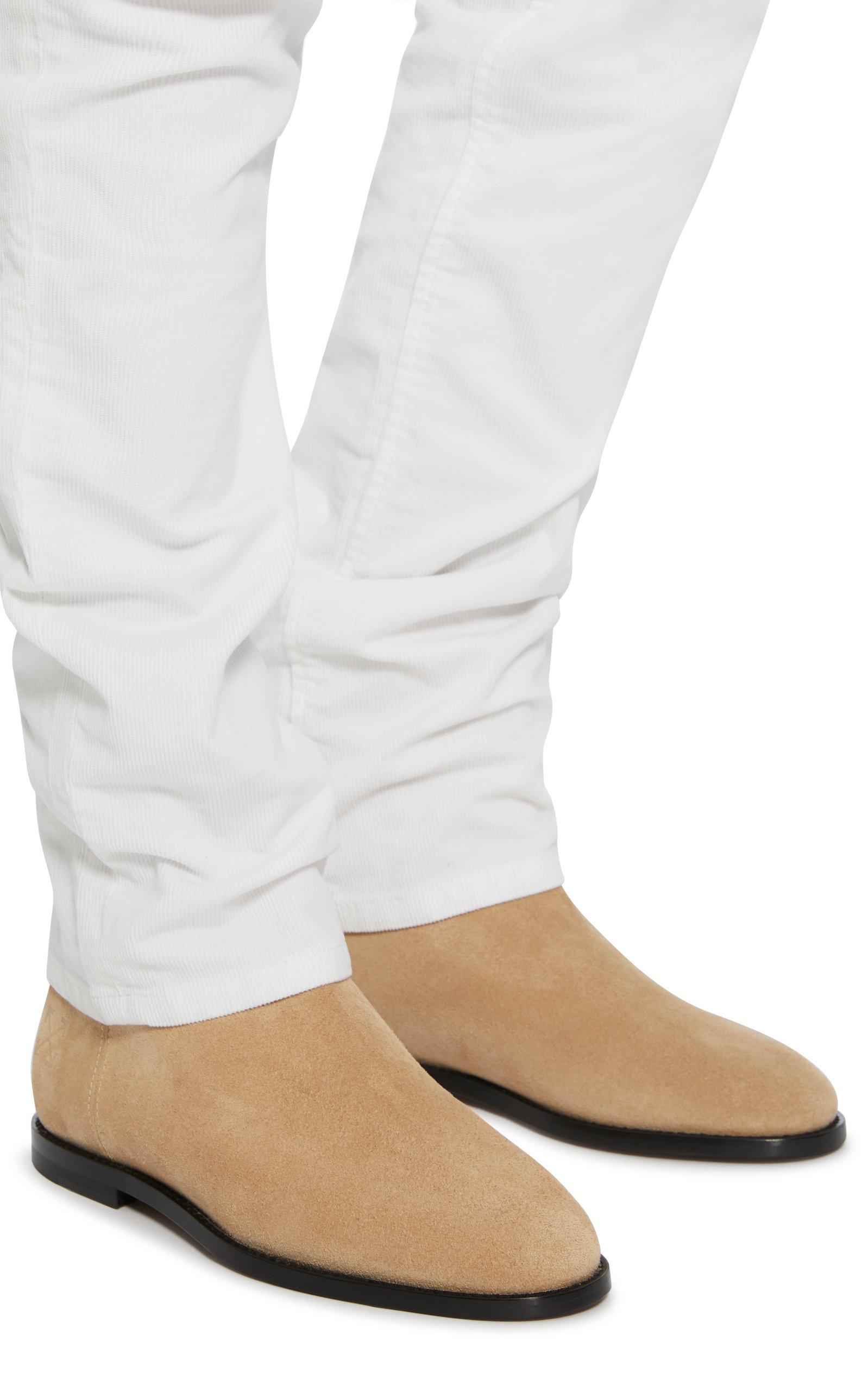 b8810de5b9f Off-White c/o Virgil Abloh Multicolor Suede Chelsea Boots for men