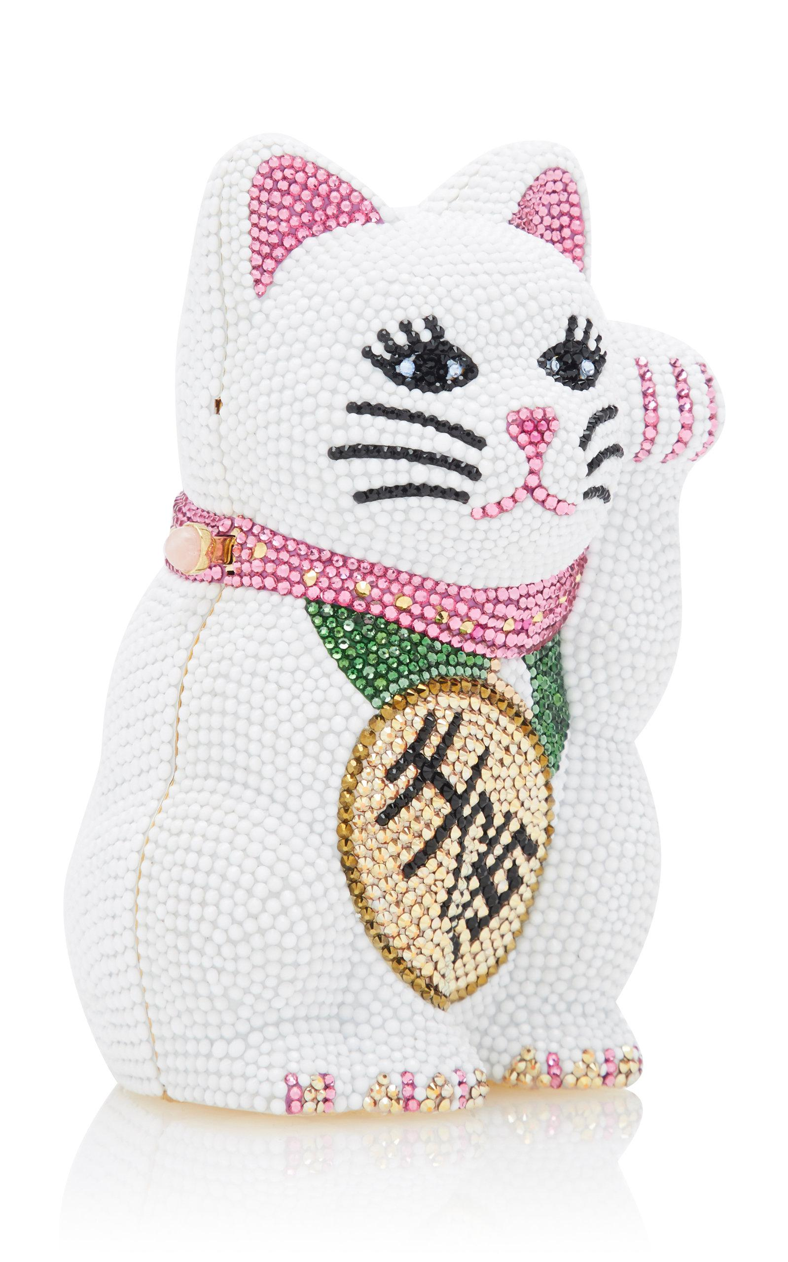 Beckoning Lucky Cat Clutch Judith Leiber Discount Amazing Price TAFKrcqF