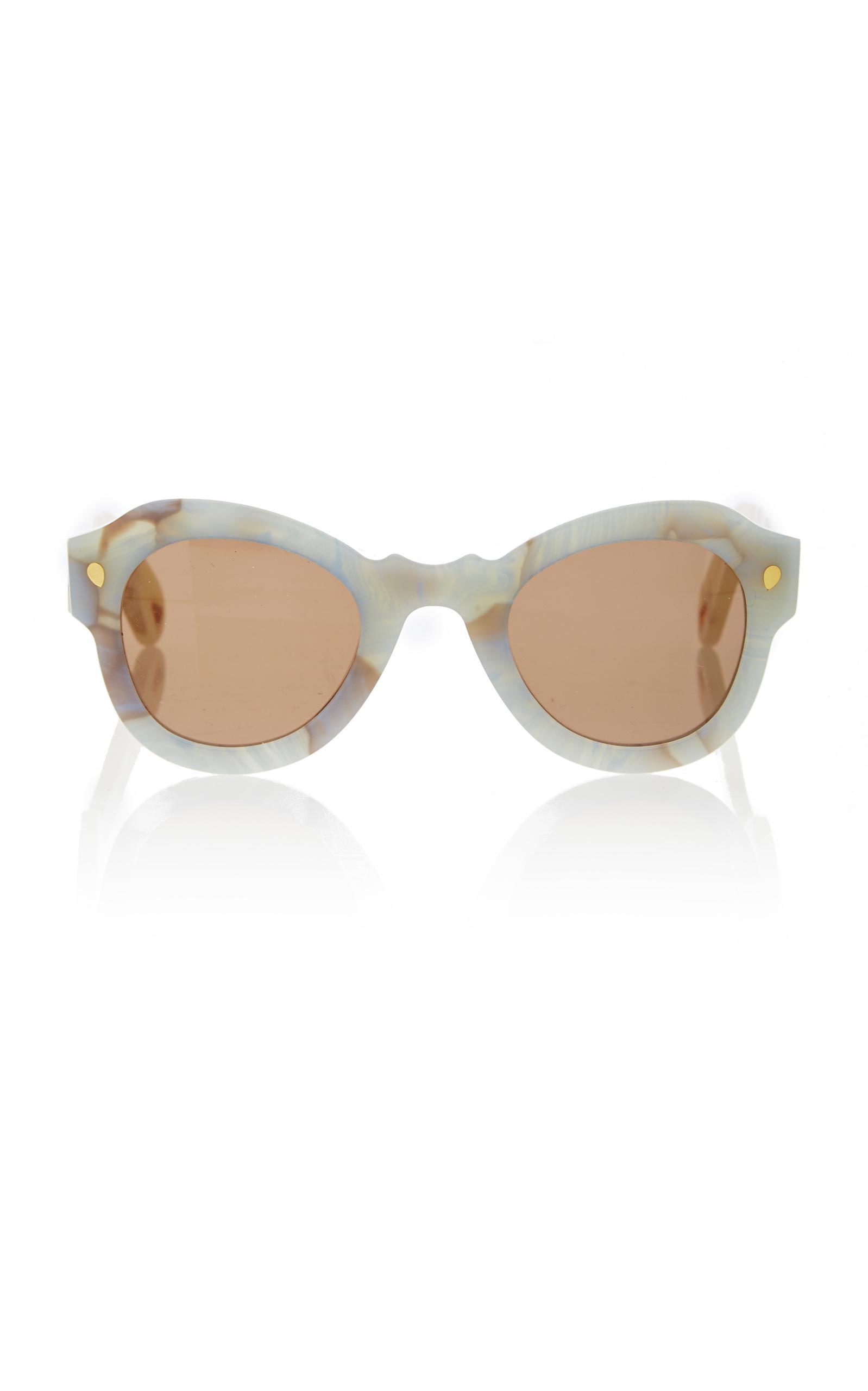ca4481c3469 Lucy Folk Fly Away Sunglasses in Blue - Lyst